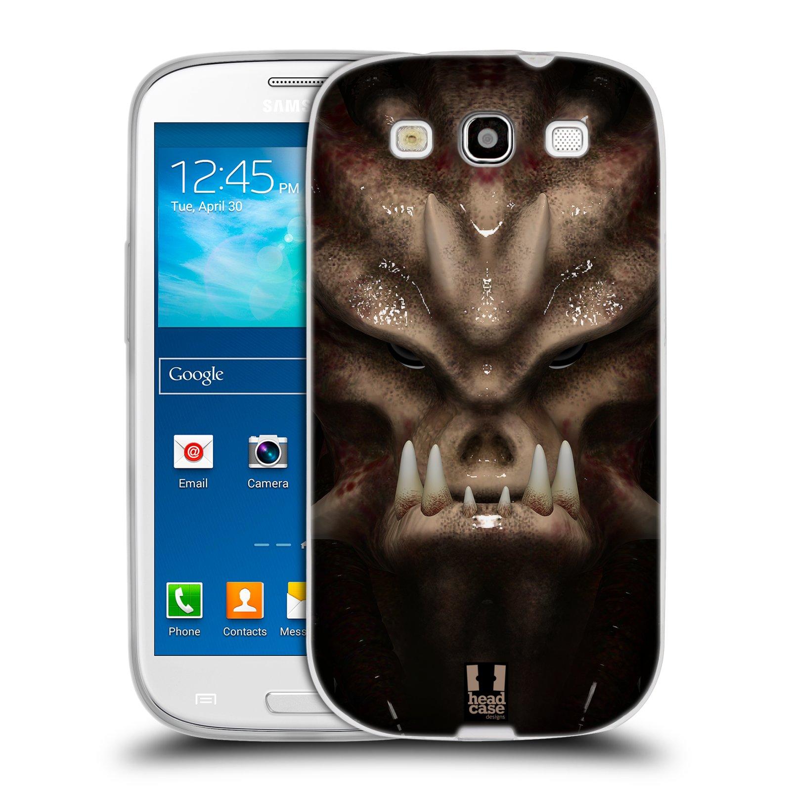 Silikonové pouzdro na mobil Samsung Galaxy S3 Neo - Head Case - Ufoun Warhead