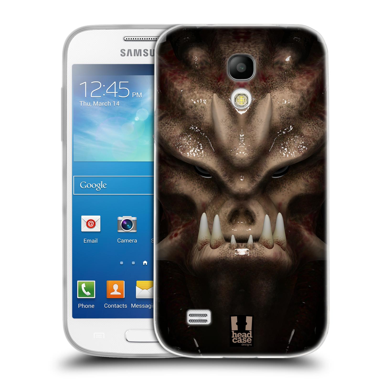 Silikonové pouzdro na mobil Samsung Galaxy S4 Mini - Head Case - Ufoun Warhead