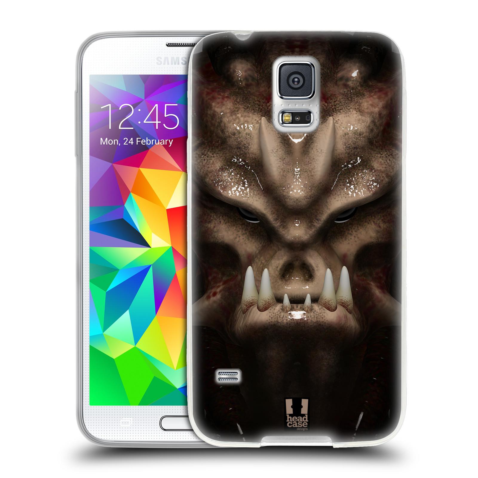Silikonové pouzdro na mobil Samsung Galaxy S5 Neo - Head Case - Ufoun Warhead