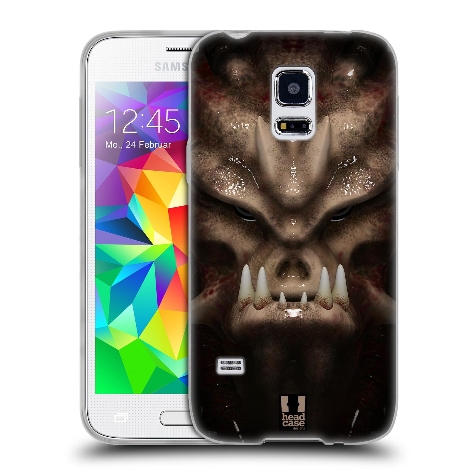 Silikonové pouzdro na mobil Samsung Galaxy S5 Mini - Head Case - Ufoun Warhead