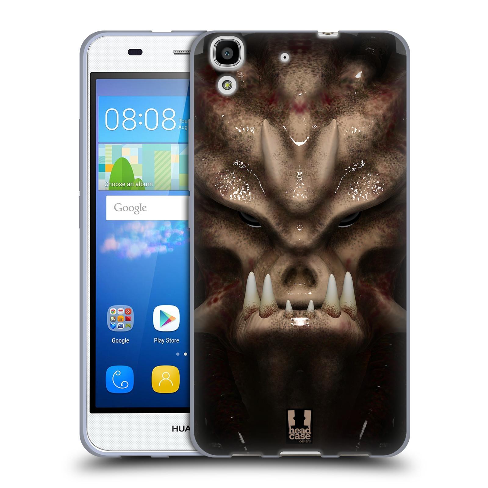 Silikonové pouzdro na mobil Huawei Y6 - Head Case - Ufoun Warhead