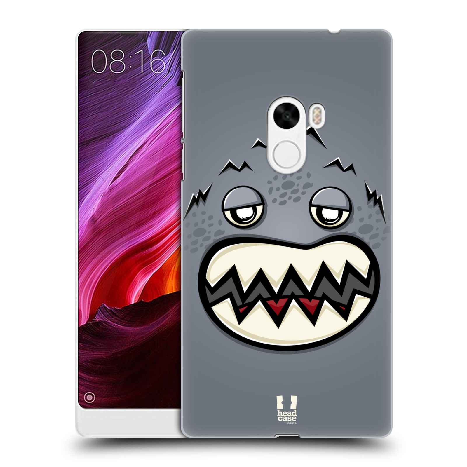 HEAD-CASE-DESIGNS-VISAGE-DE-MONSTRE-ETUI-COQUE-D-039-ARRIERE-POUR-XIAOMI-Mi-MIX