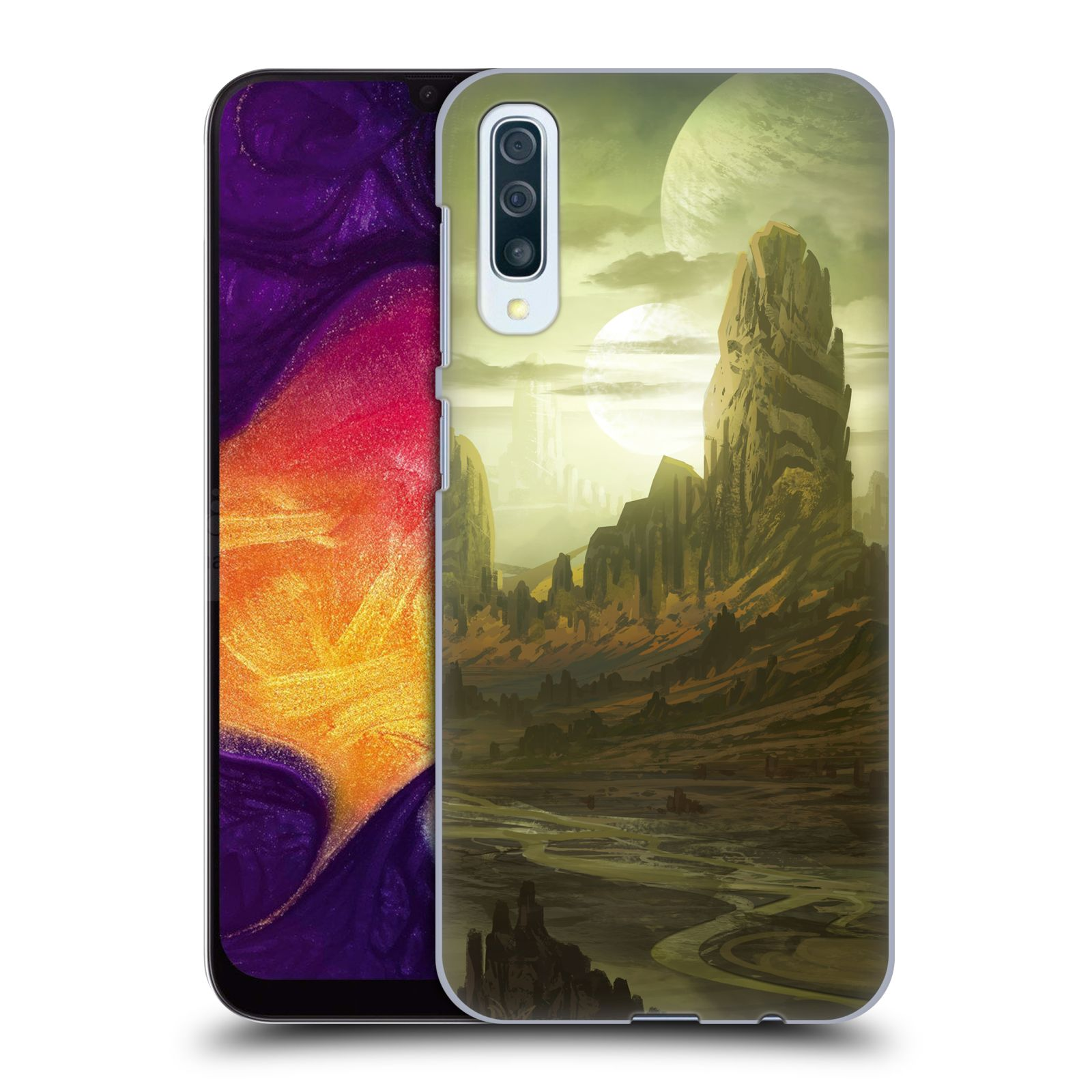 Official Alyn Spiller Environment Art Alien Landscape Case for Samsung Galaxy A50/A30s (2019)