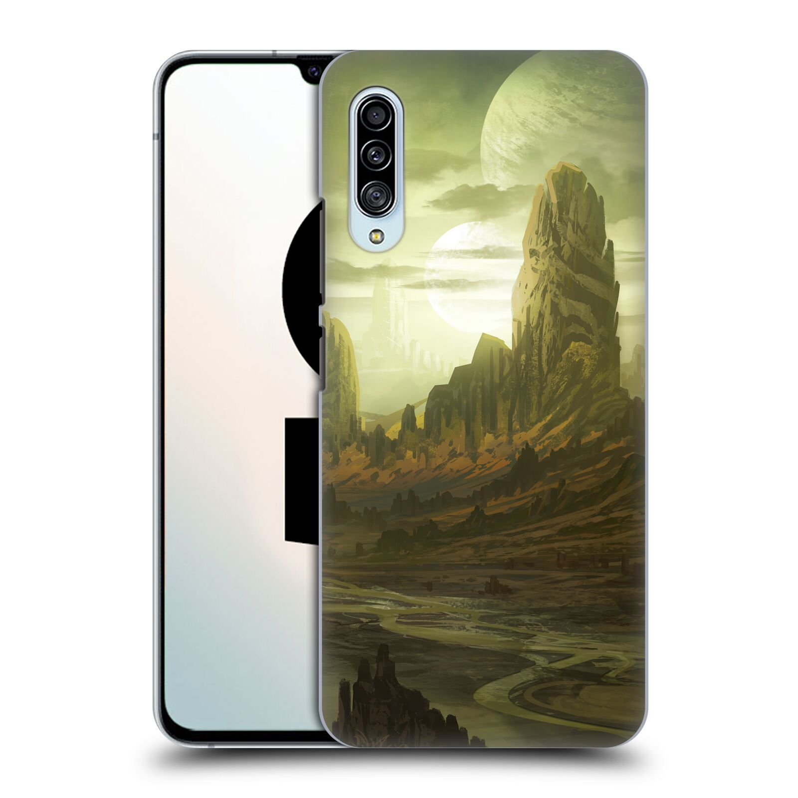 Official Alyn Spiller Environment Art Alien Landscape Case for Samsung Galaxy A90 5G (2019)