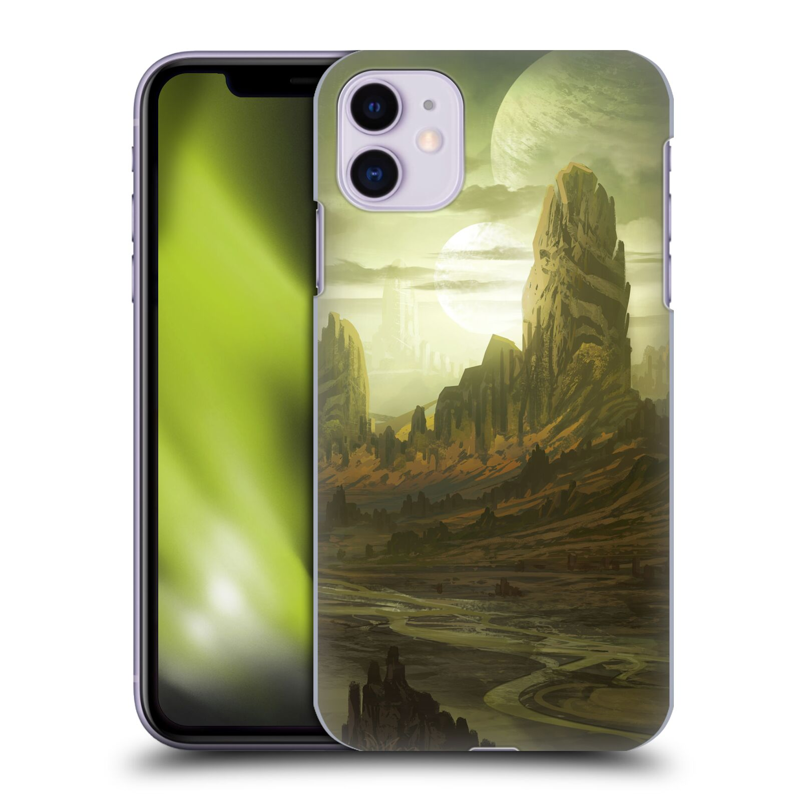 Official Alyn Spiller Environment Art Alien Landscape Case for Apple iPhone 11