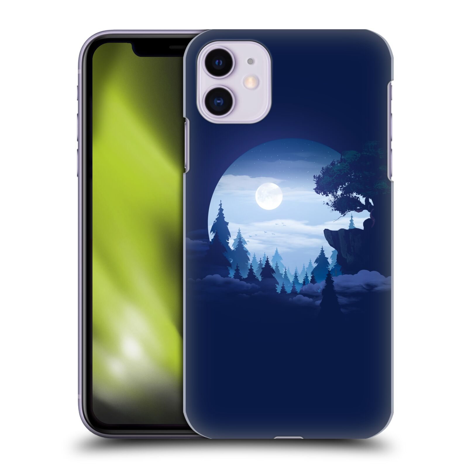 Official Alyn Spiller Environment Art Moon Case for Apple iPhone 11