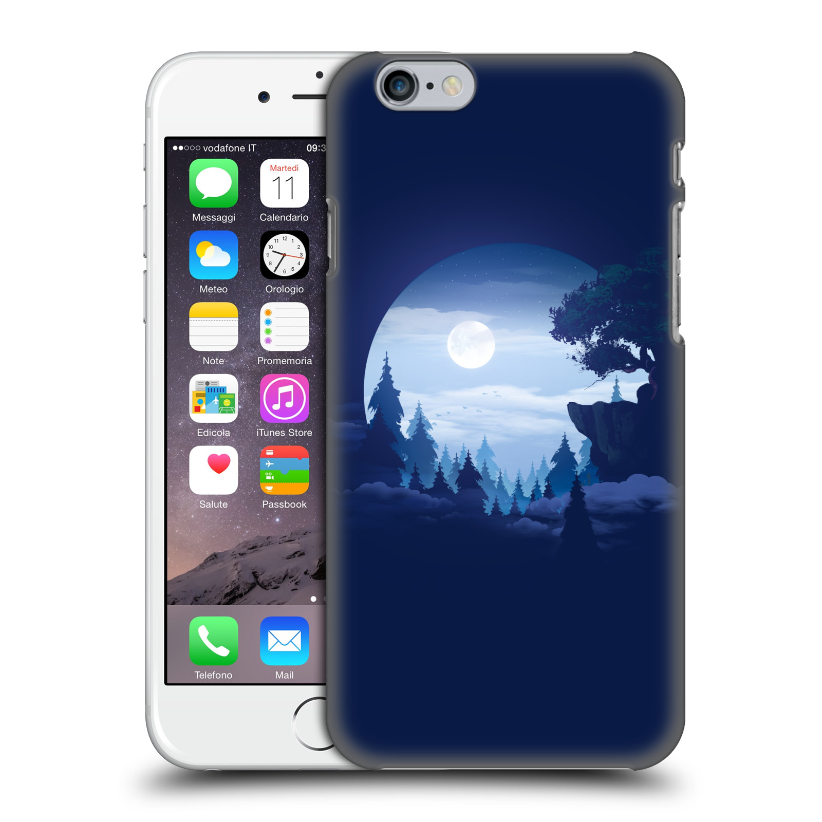 Official Alyn Spiller Environment Art Moon Case for Apple iPhone 6 / iPhone 6s