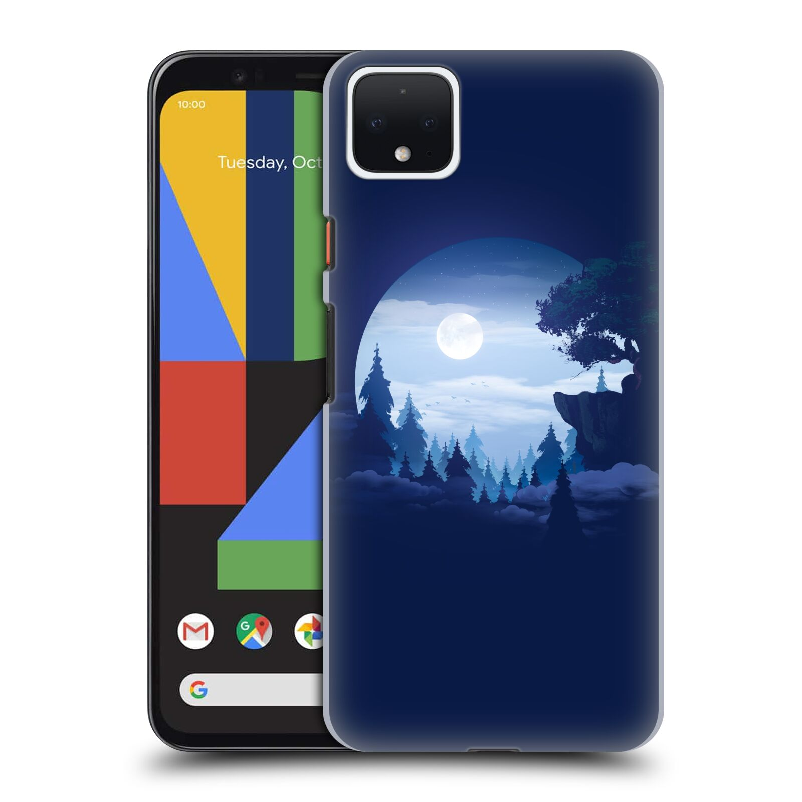 Official Alyn Spiller Environment Art Moon Case for Google Pixel 4 XL