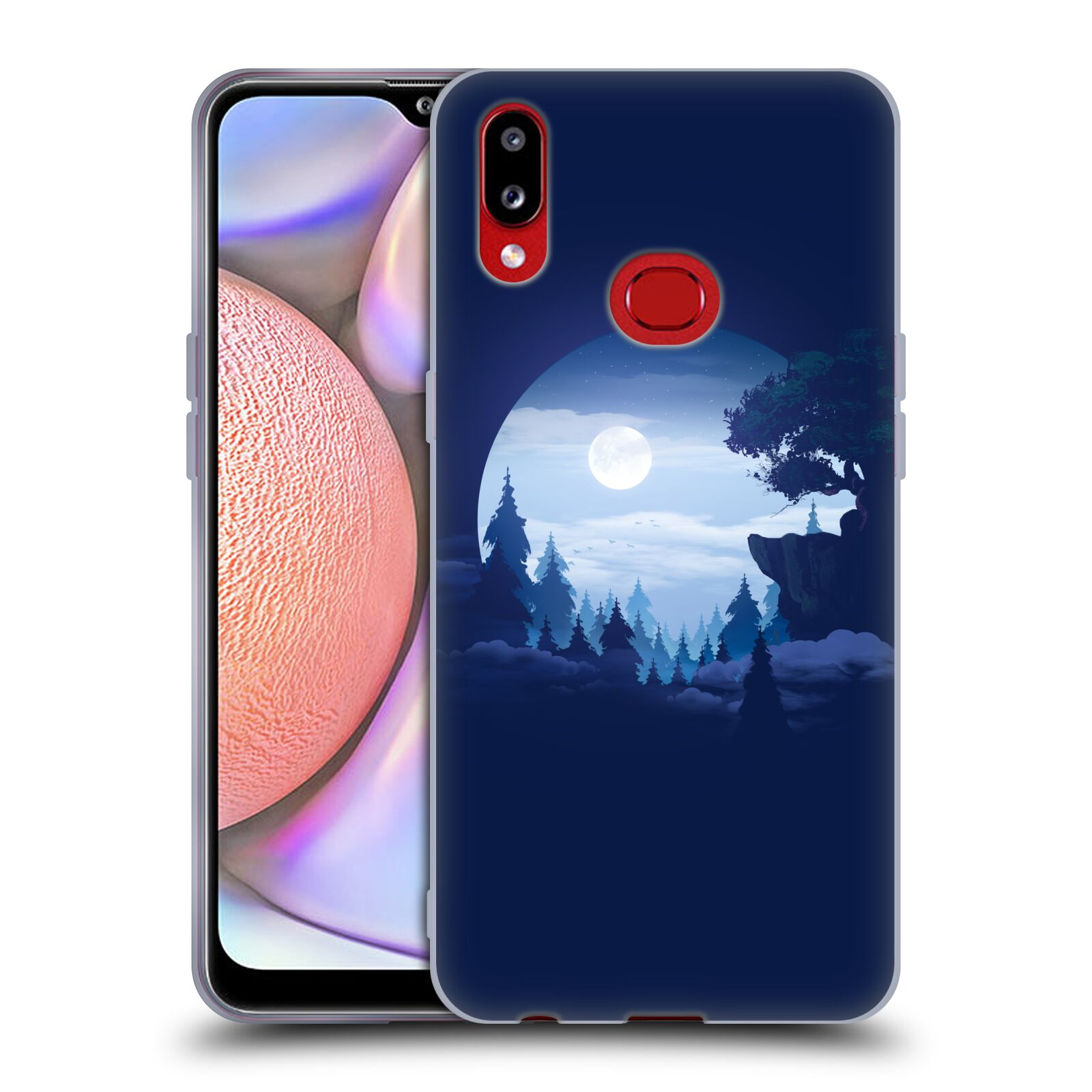 Official Alyn Spiller Environment Art Moon Gel Case for Samsung Galaxy A10s (2019)