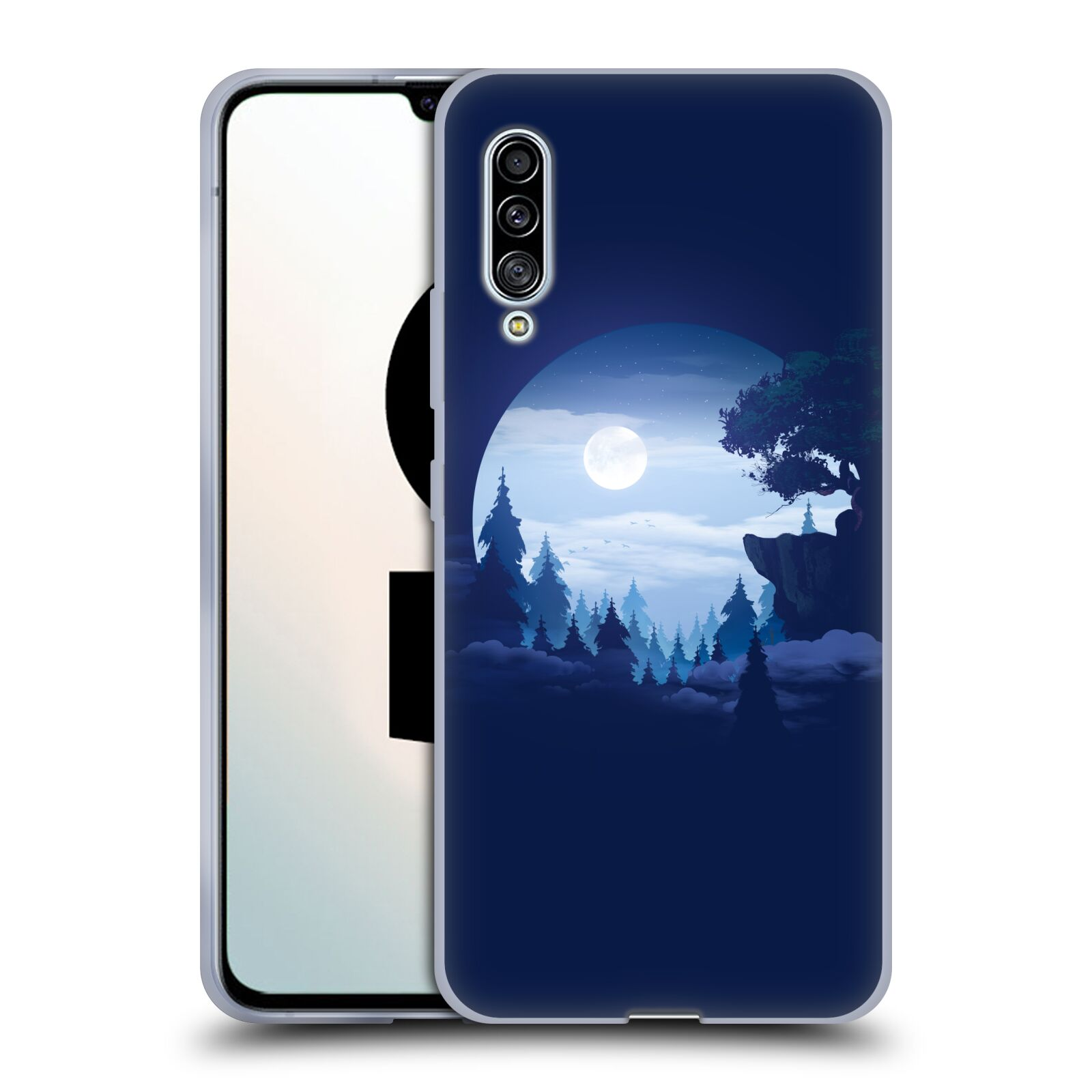 Official Alyn Spiller Environment Art Moon Gel Case for Samsung Galaxy A90 5G (2019)