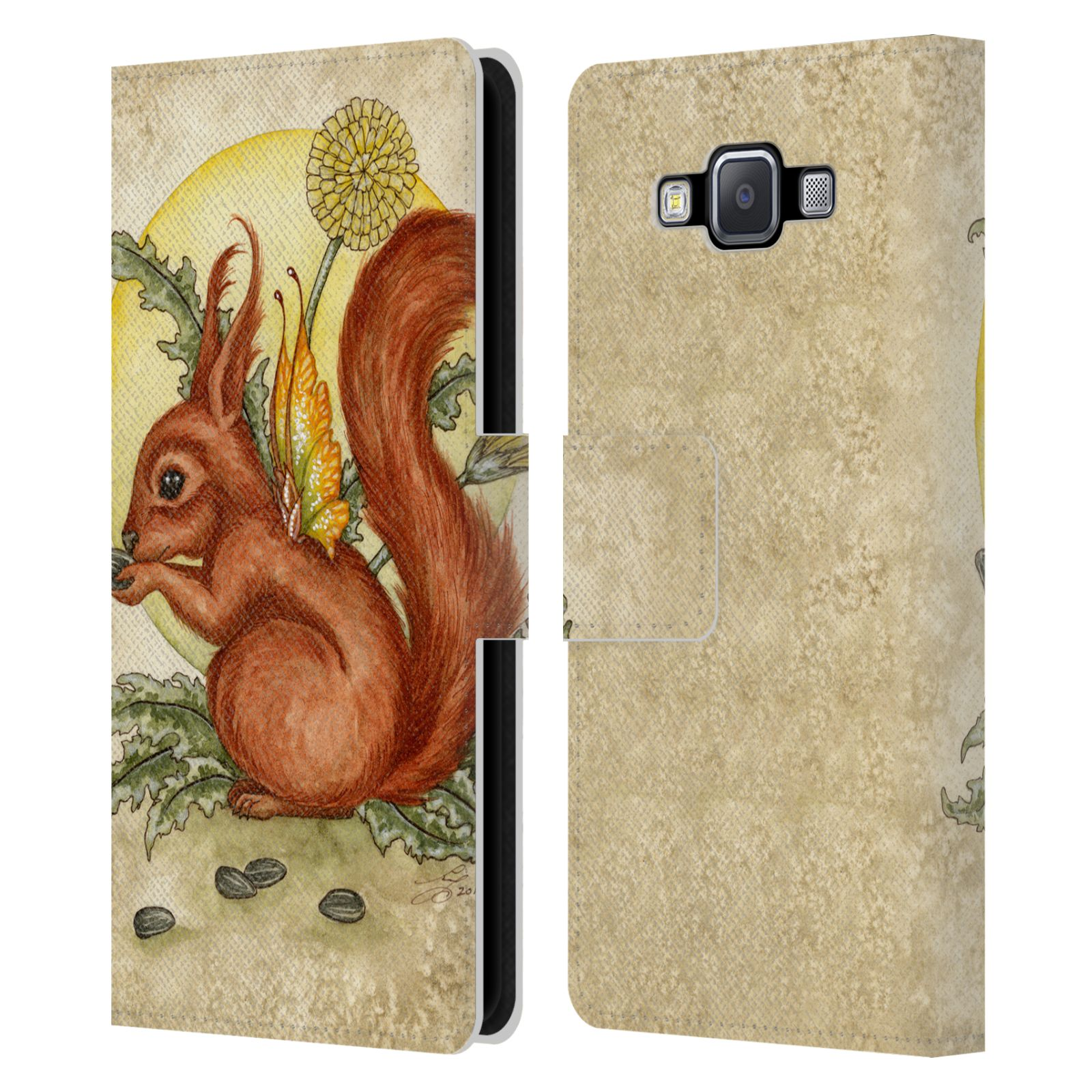 OFFICIAL-AMY-BROWN-MYTHICAL-LEATHER-BOOK-WALLET-CASE-COVER-FOR-SAMSUNG-PHONES-2
