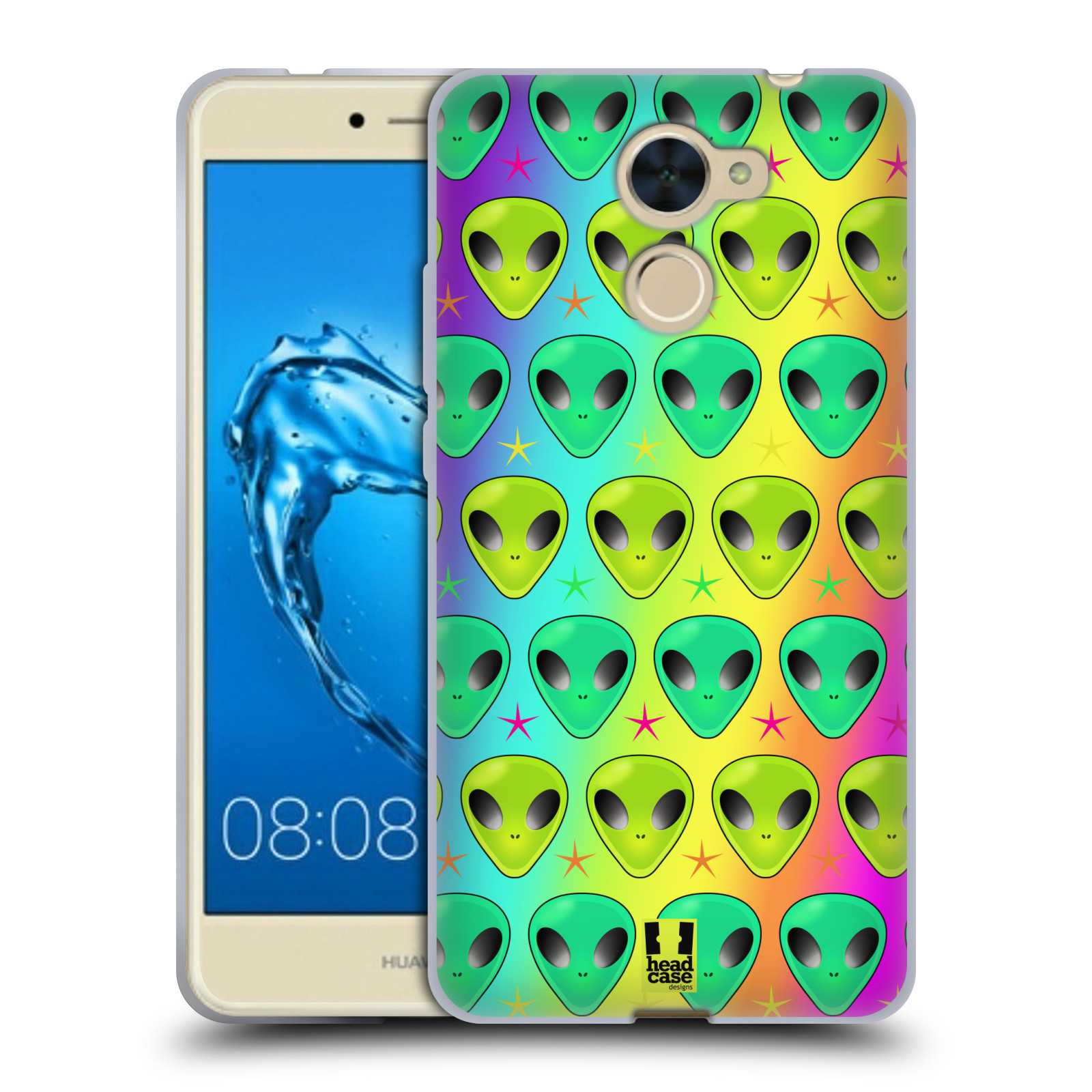 coque huawei y7 2017 silicone emoji