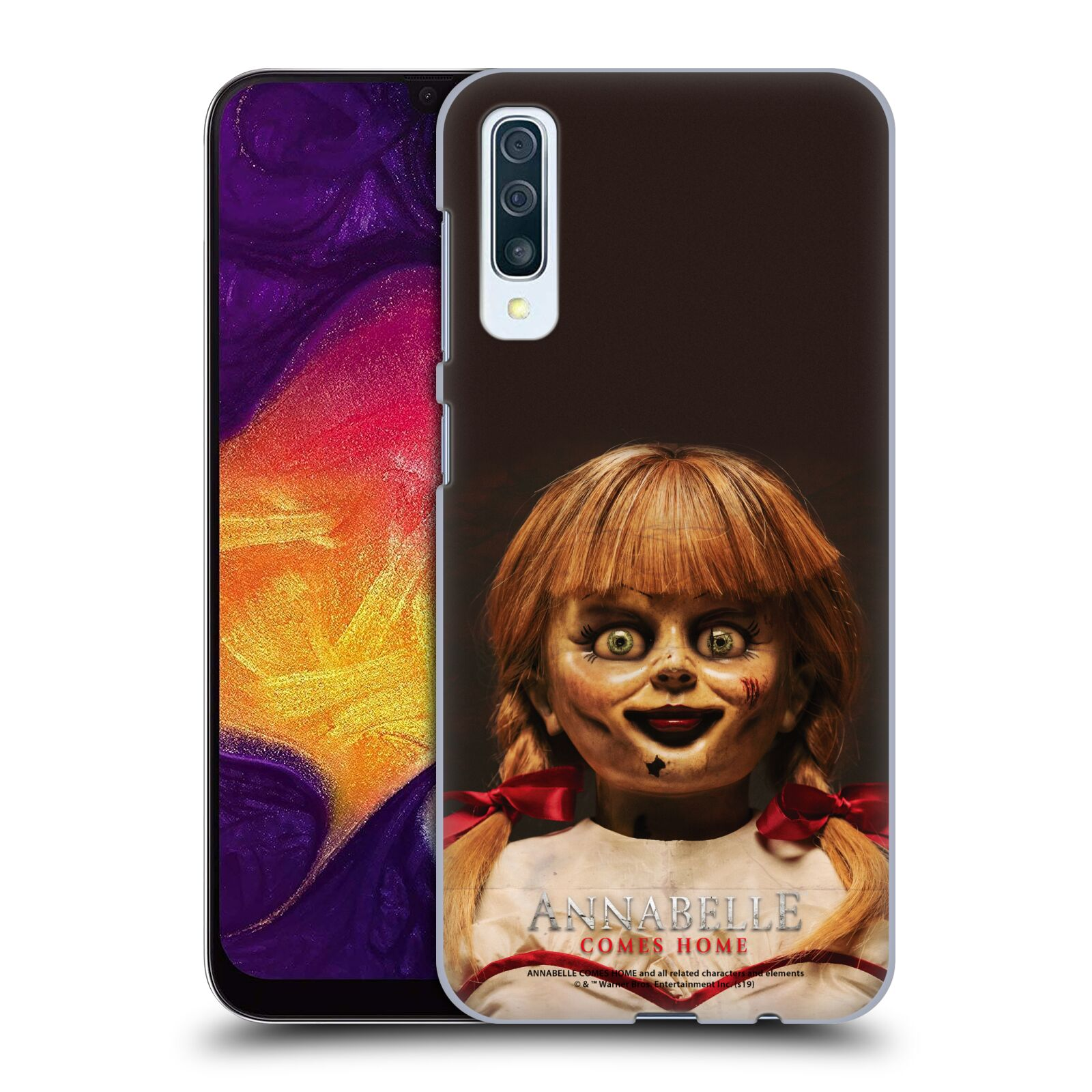 Official Annabelle Comes Home Doll Photography Portrait Case for Samsung Galaxy A50s (2019)