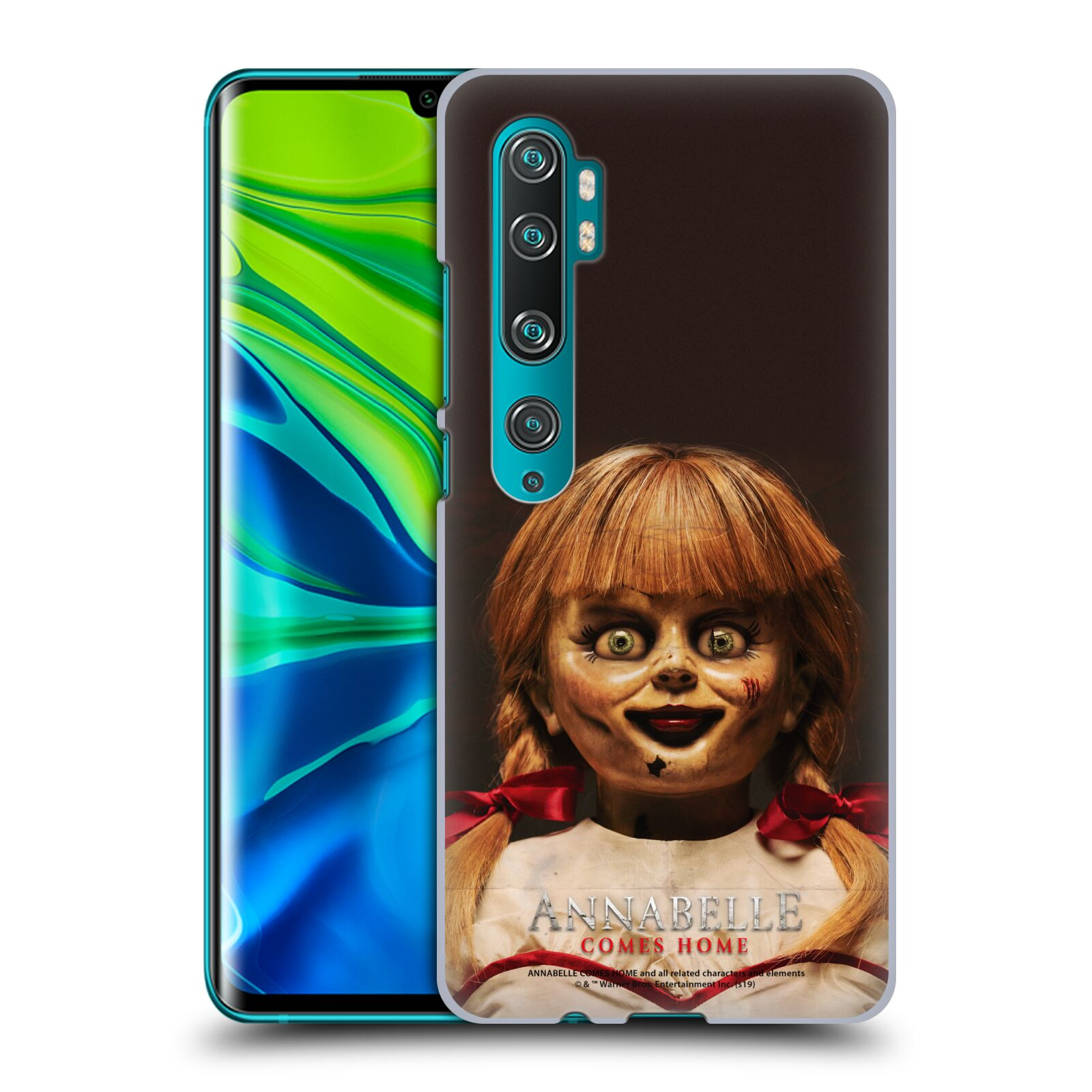 Official Annabelle Comes Home Doll Photography Portrait Case for Xiaomi Mi CC9 Pro / Mi Note 10 / Pro
