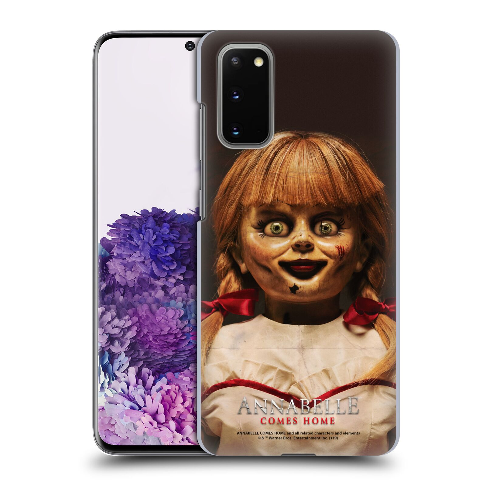 Official Annabelle Comes Home Doll Photography Portrait Case for Samsung Galaxy S20 / S20 5G