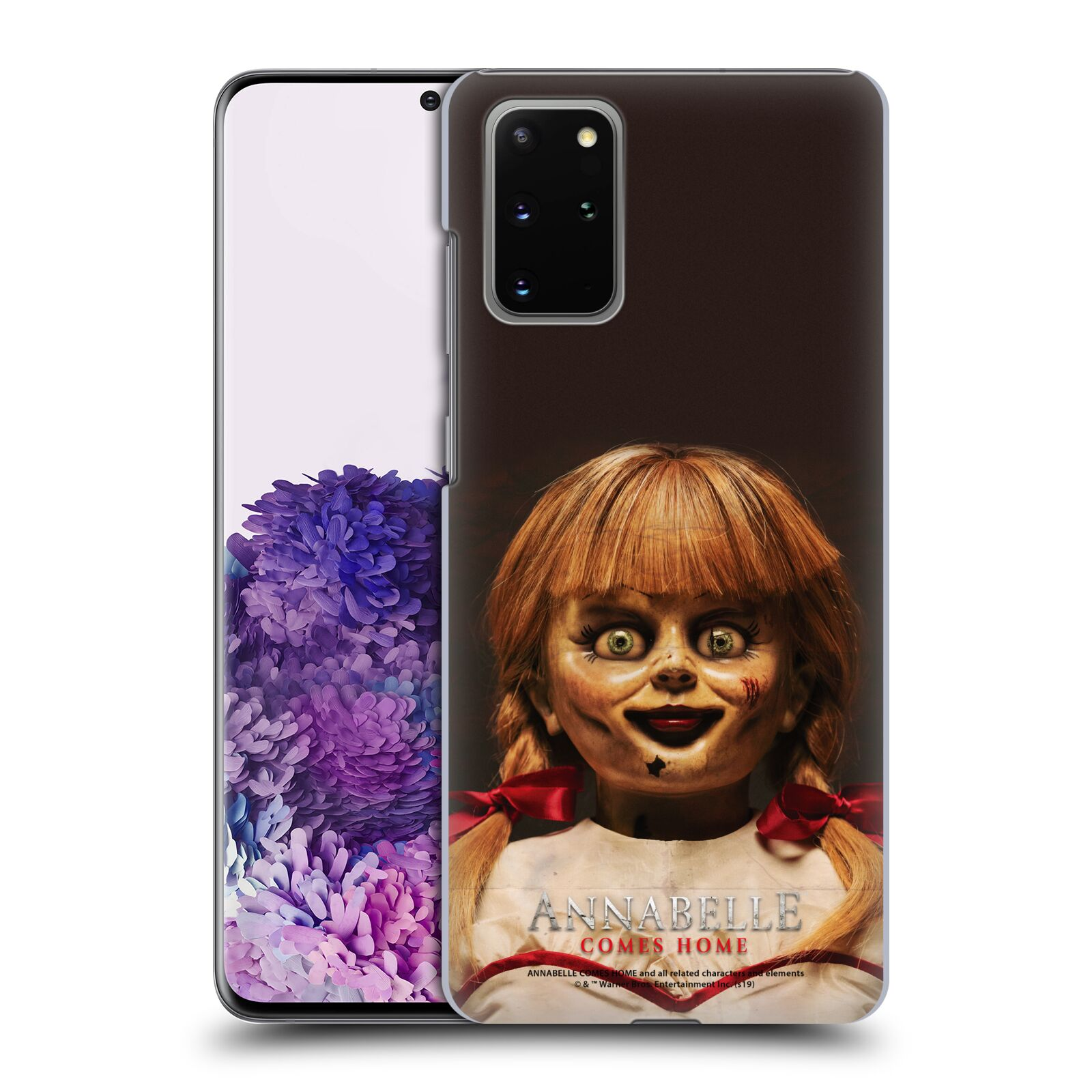 Official Annabelle Comes Home Doll Photography Portrait Case for Samsung Galaxy S20+ / S20+ 5G