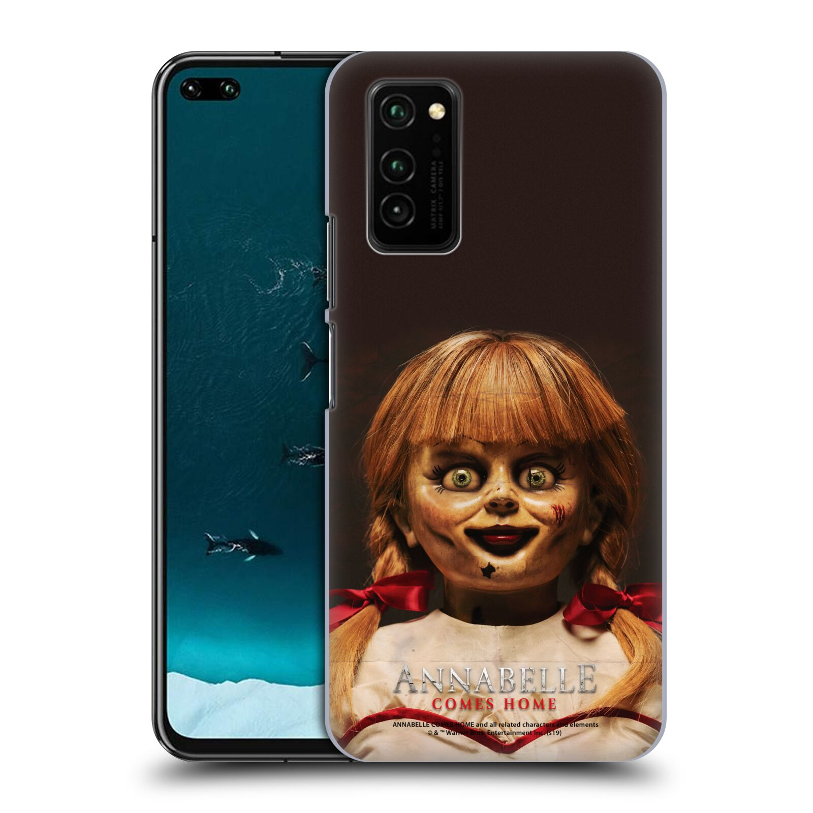 Official Annabelle Comes Home Doll Photography Portrait Case for Huawei Honor V30 / Honor View 30