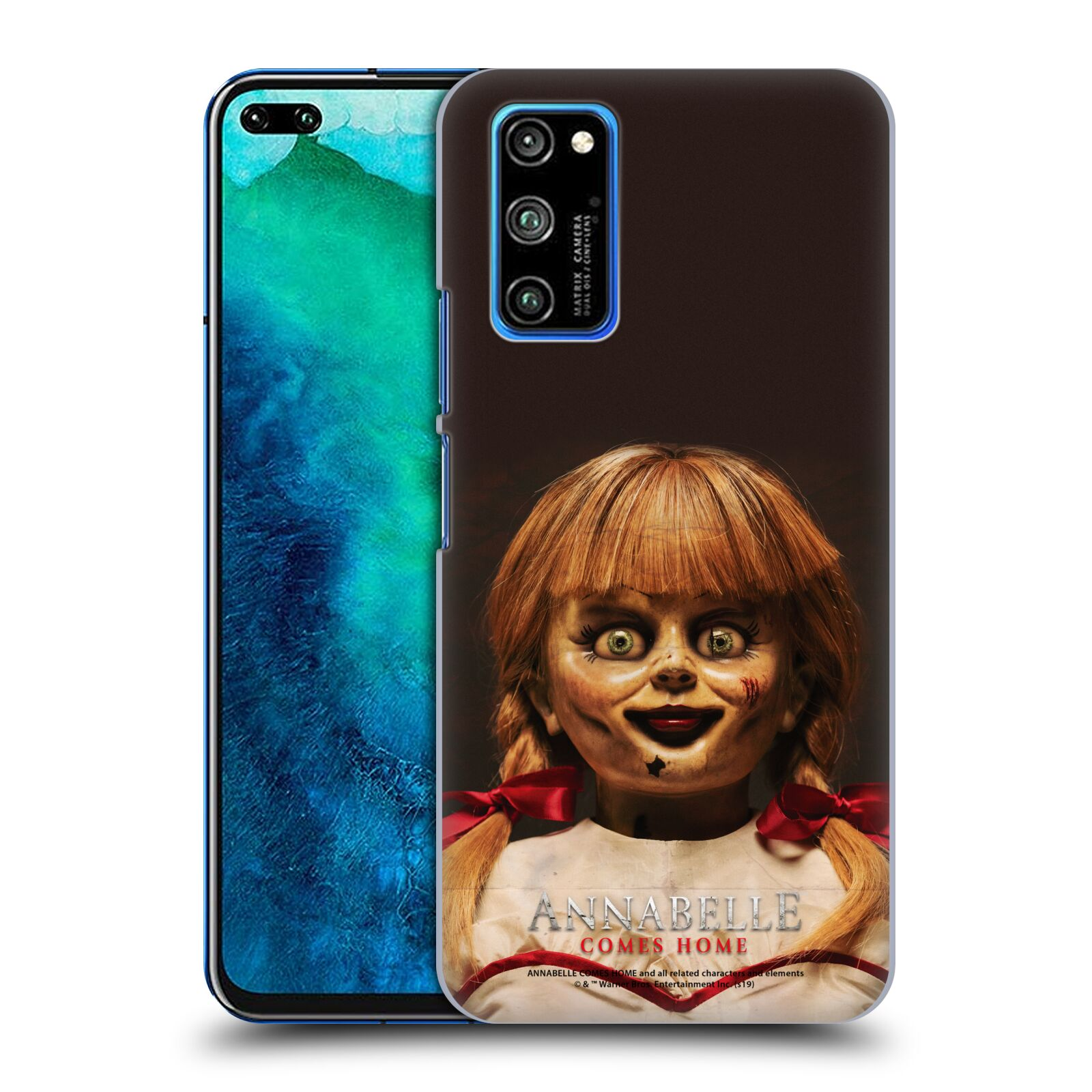 Official Annabelle Comes Home Doll Photography Portrait Case for Huawei Honor V30 Pro / View 30 Pro