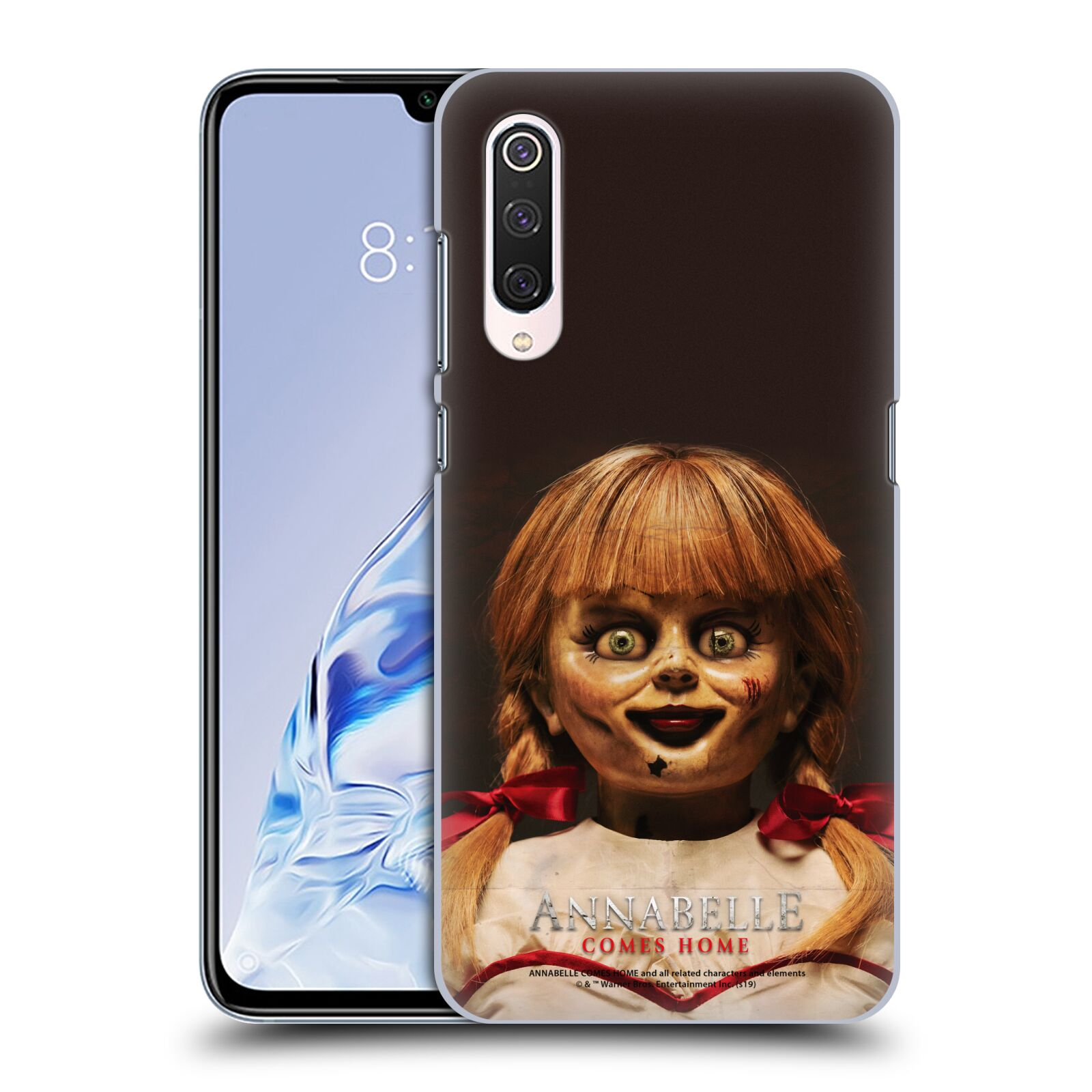 Official Annabelle Comes Home Doll Photography Portrait Case for Xiaomi Mi 9 Pro / 5G