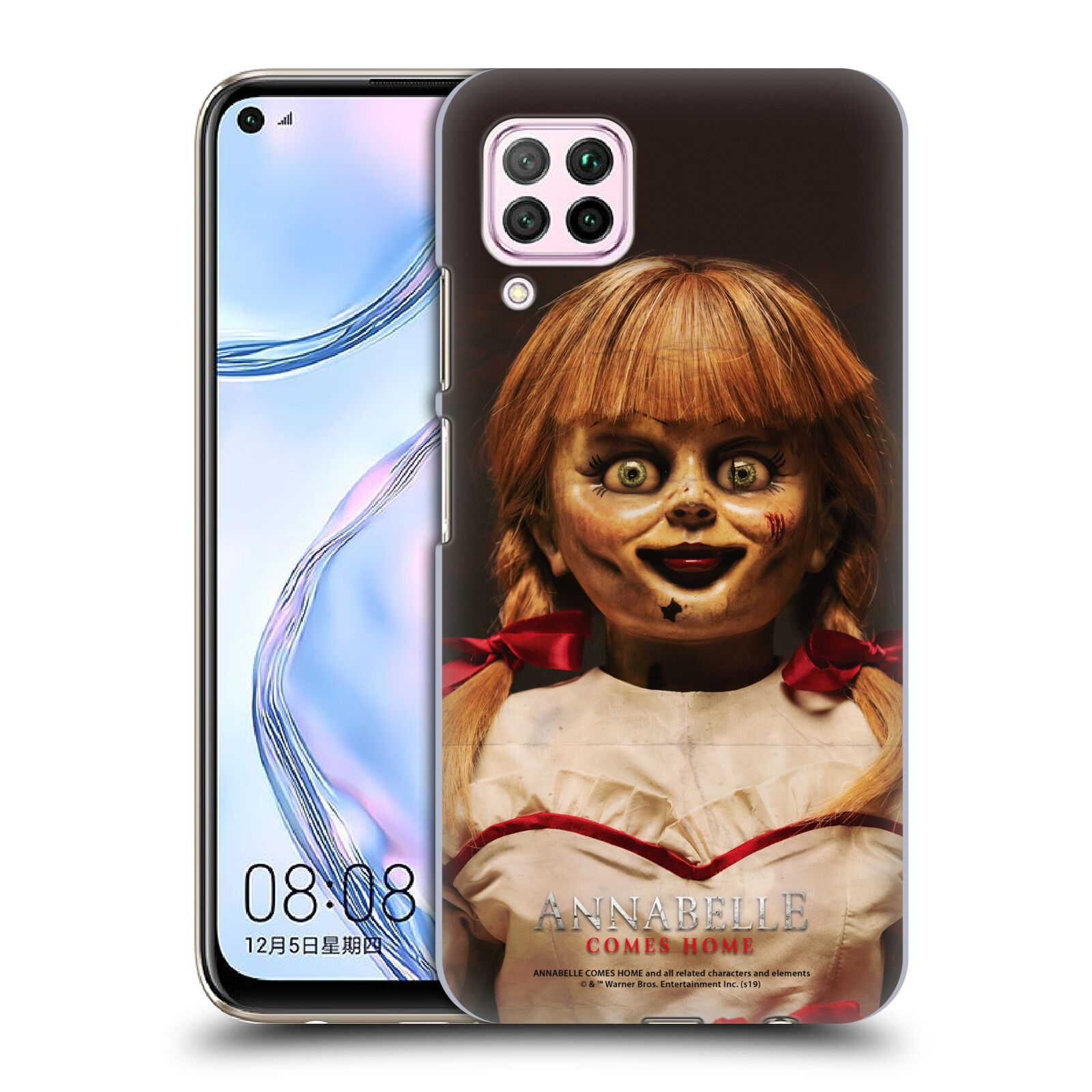Official Annabelle Comes Home Doll Photography Portrait Case for Huawei Nova 6 SE