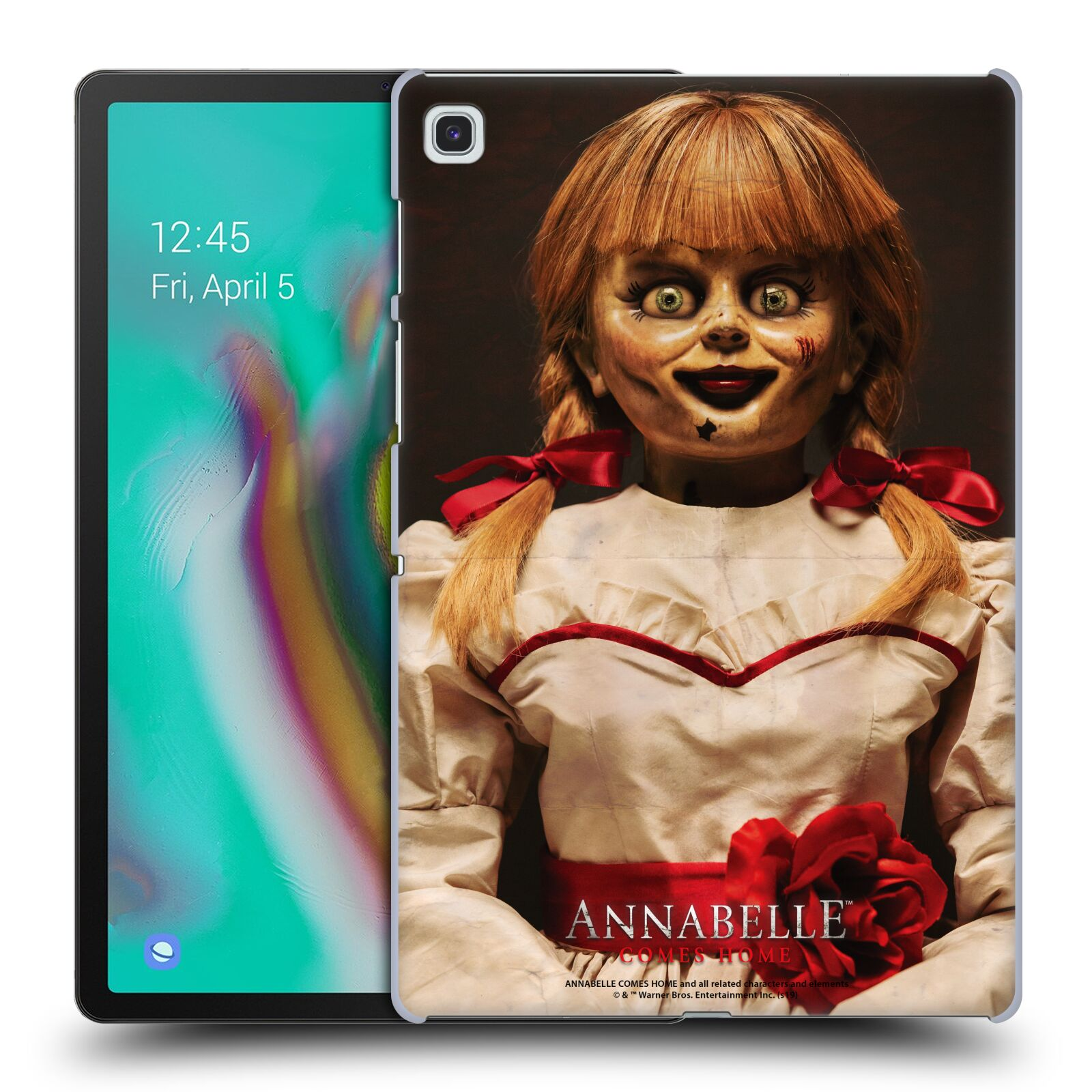 Official Annabelle Comes Home Doll Photography Portrait Case for Samsung Galaxy Tab S5e