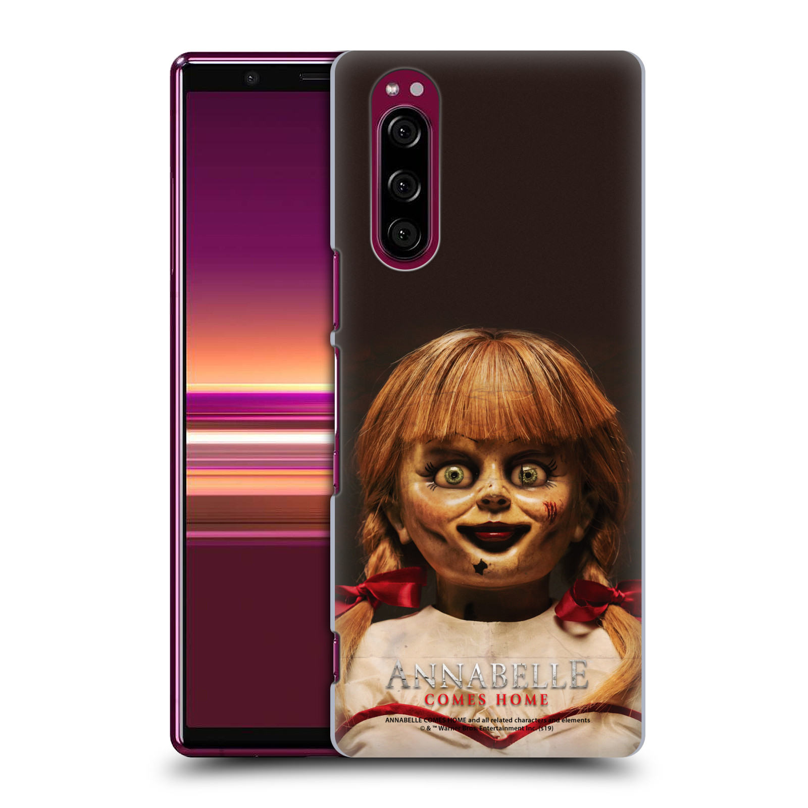 Official Annabelle Comes Home Doll Photography Portrait Case for Sony Xperia 5