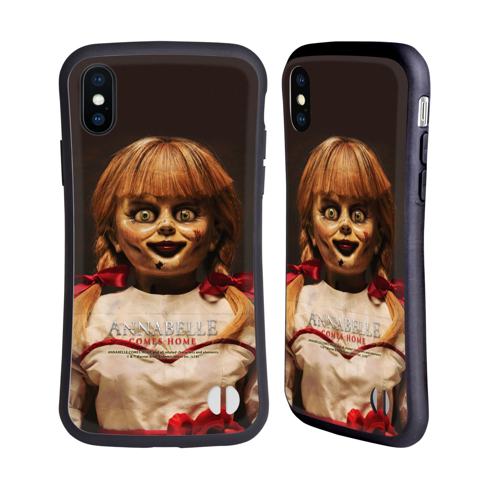 Official Annabelle Comes Home Doll Photography Portrait Hybrid Case for Apple iPhone X / iPhone XS