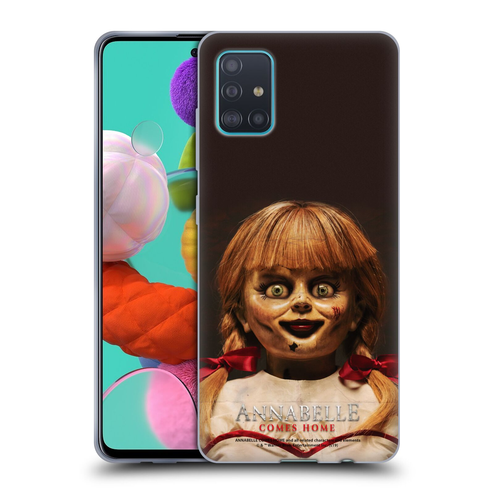 Official Annabelle Comes Home Doll Photography Portrait Gel Case for Samsung Galaxy A51 (2019)