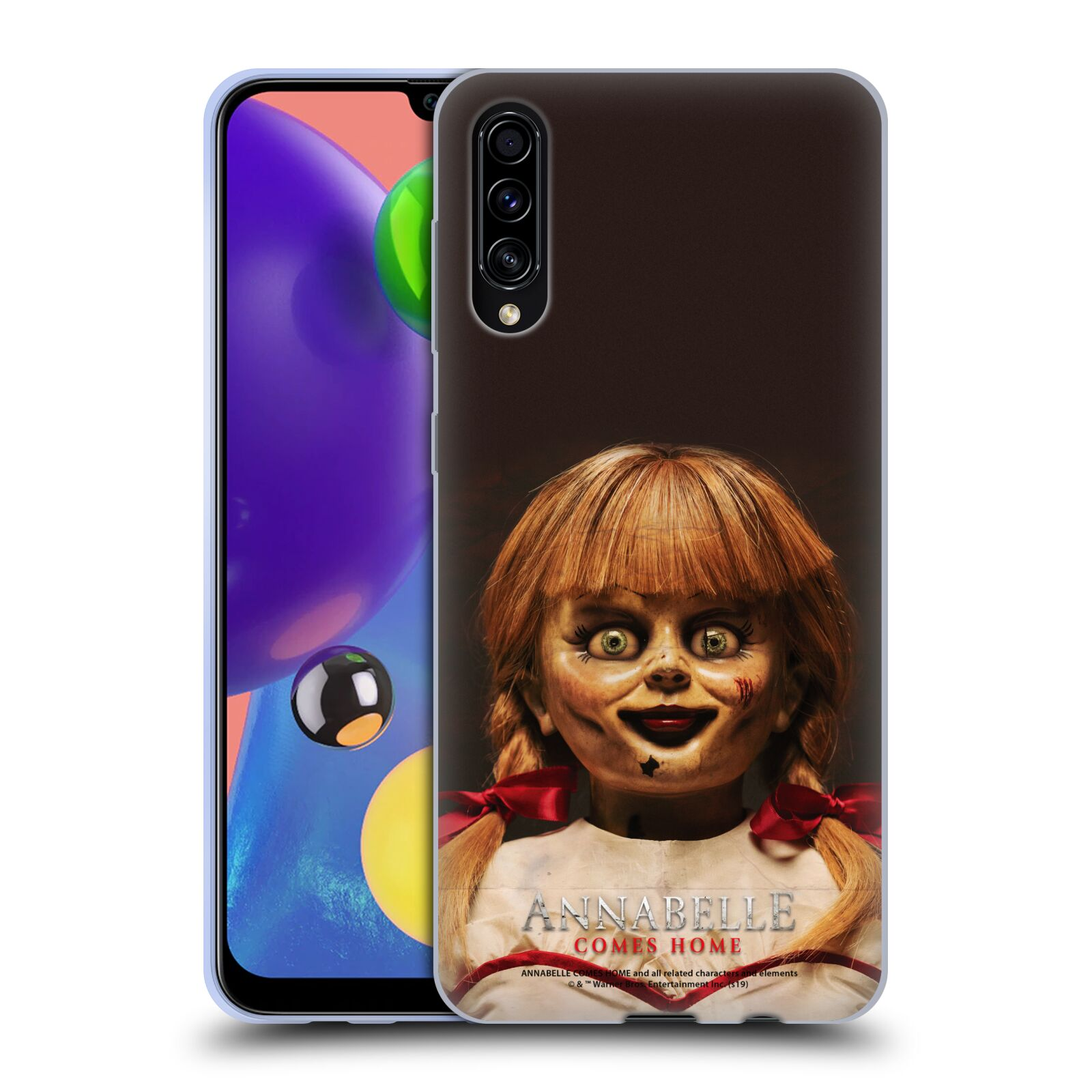 Official Annabelle Comes Home Doll Photography Portrait Gel Case for Samsung Galaxy A70s (2019)
