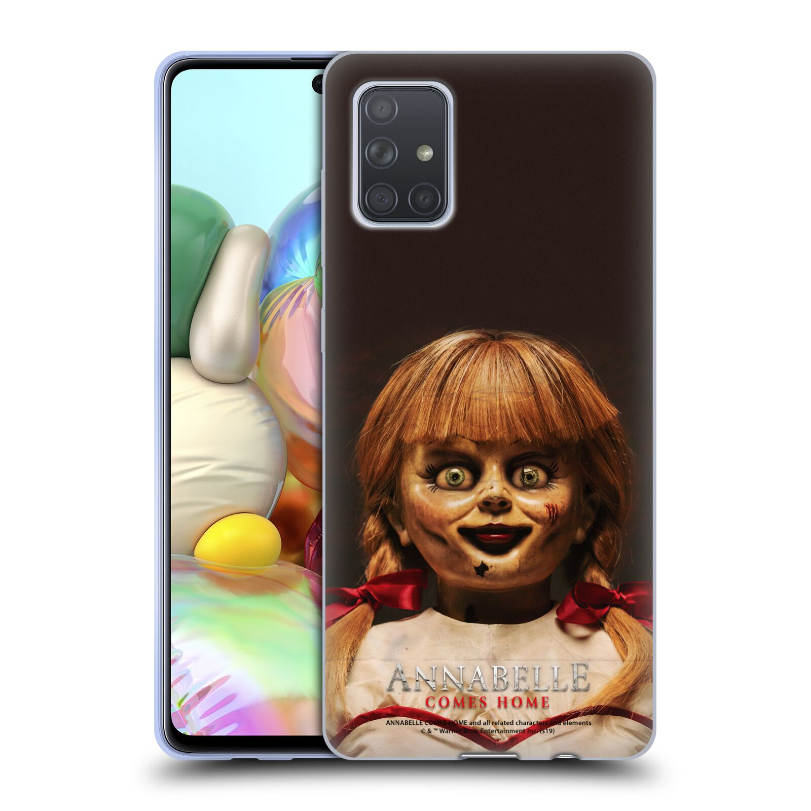 Official Annabelle Comes Home Doll Photography Portrait Gel Case for Samsung Galaxy A71 (2019)