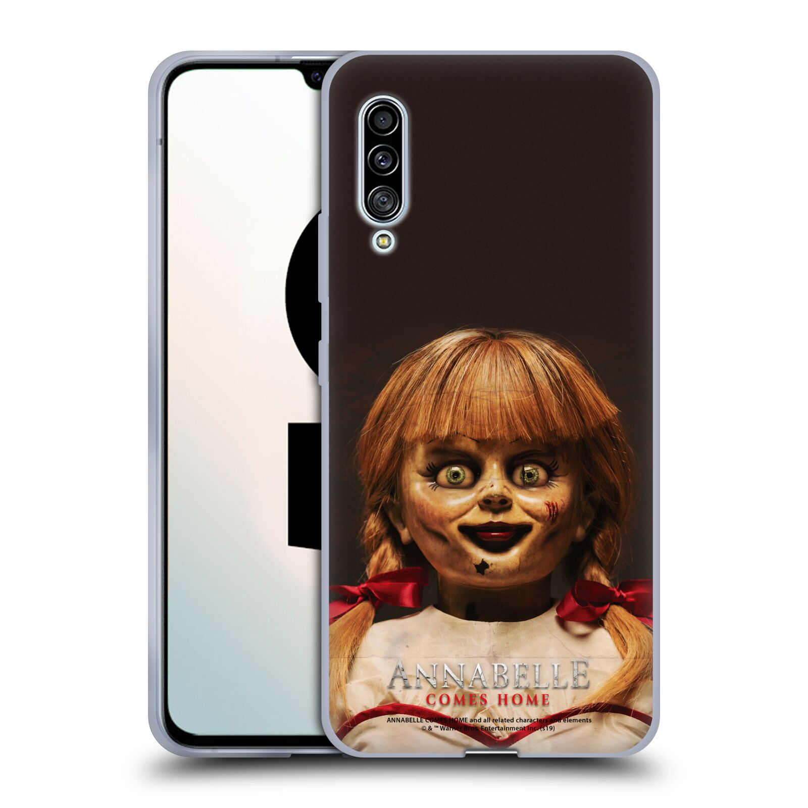 Official Annabelle Comes Home Doll Photography Portrait Gel Case for Samsung Galaxy A90 5G (2019)