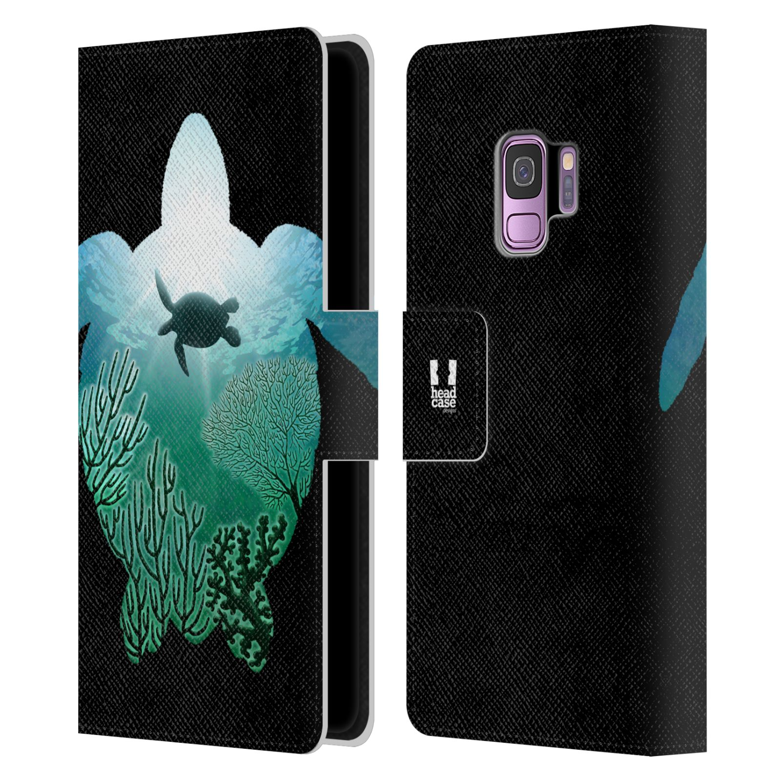 HEAD-CASE-DESIGNS-ANIMAL-DOUBLE-EXPOSURE-LEATHER-BOOK-CASE-FOR-SAMSUNG-PHONES-1