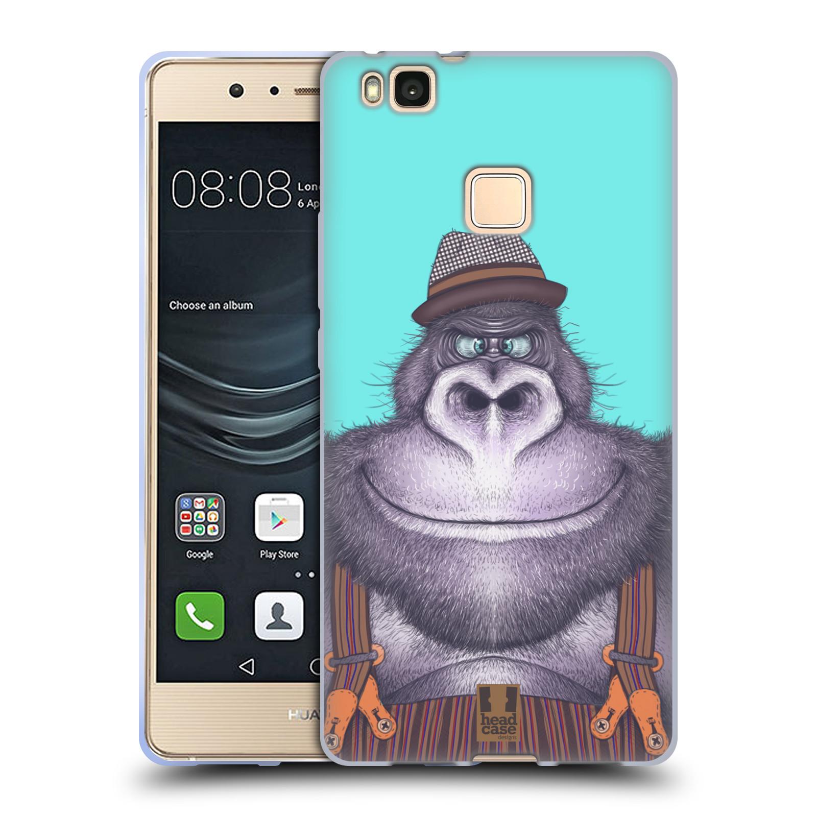 Silikonové pouzdro na mobil Huawei P9 Lite - Head Case - ANIMPLA GORILÁK
