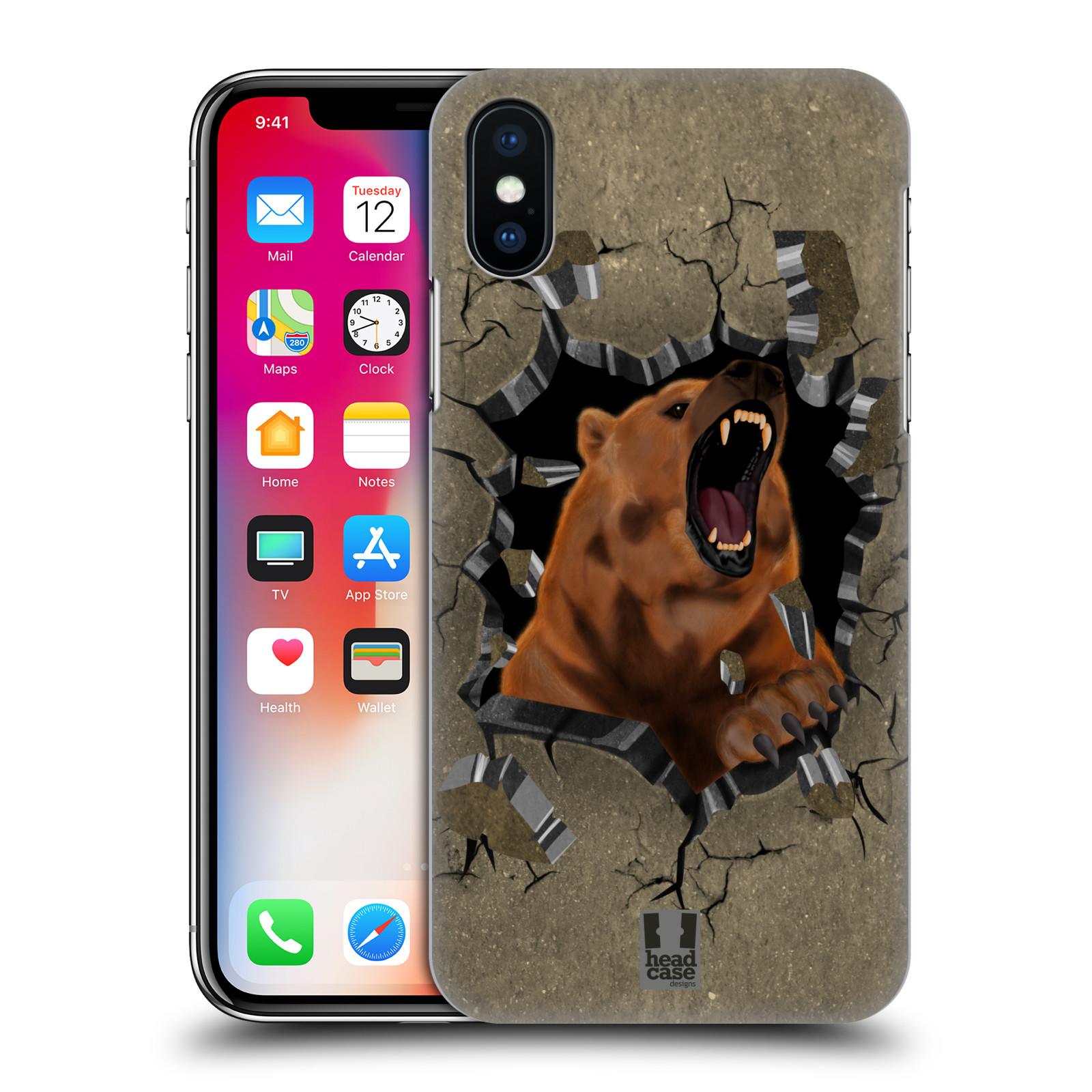 HEAD-CASE-DESIGNS-ANIMAL-RAMPAGE-HARD-BACK-CASE-FOR-APPLE-iPHONE-PHONES