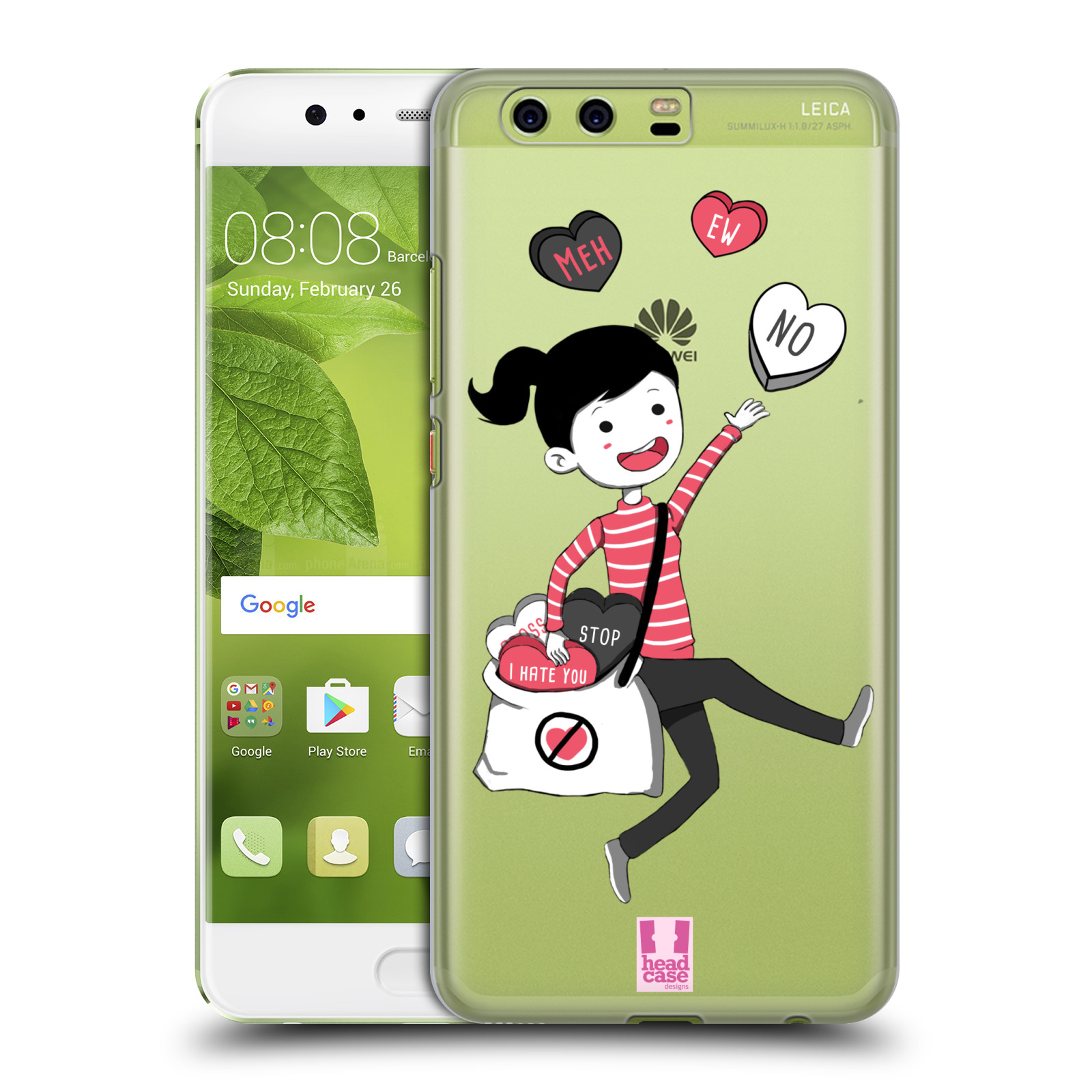 HEAD-CASE-DESIGNS-ANTI-VALENTINE-039-S-SENTIMENTS-HARD-BACK-CASE-FOR-HUAWEI-PHONES-1