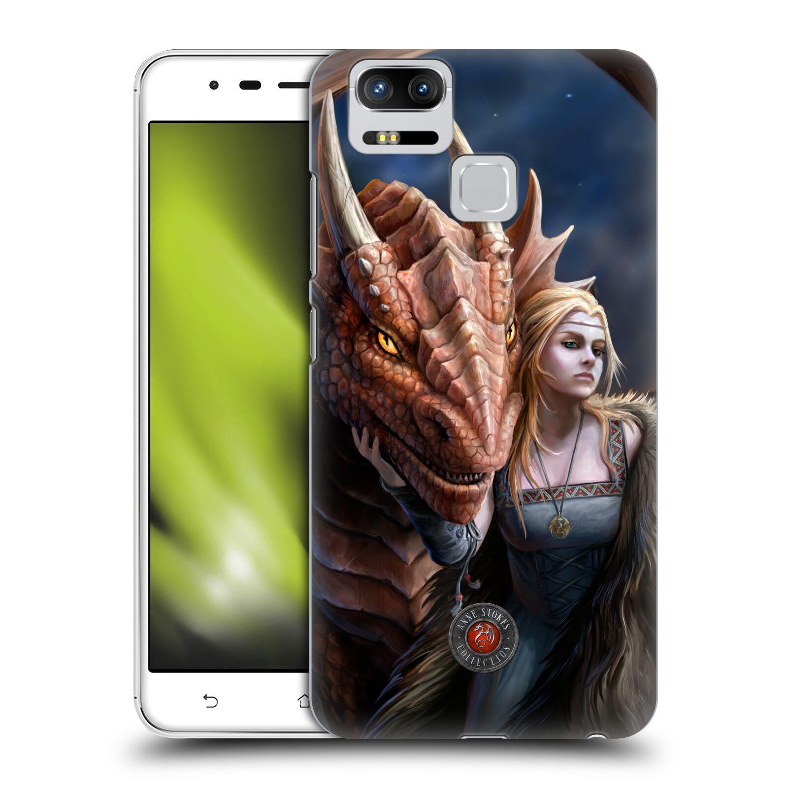Oficial-Anne-Stokes-Dragon-amistad-2-funda-rigida-posterior-para-Asus-ZenFone-telefonos