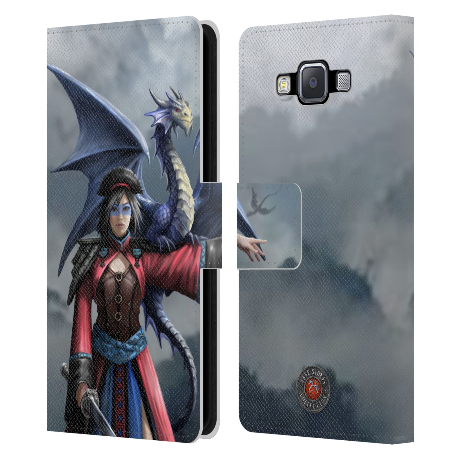 OFFICIAL-ANNE-STOKES-DRAGON-FRIENDSHIP-2-LEATHER-BOOK-CASE-FOR-SAMSUNG-PHONES-2