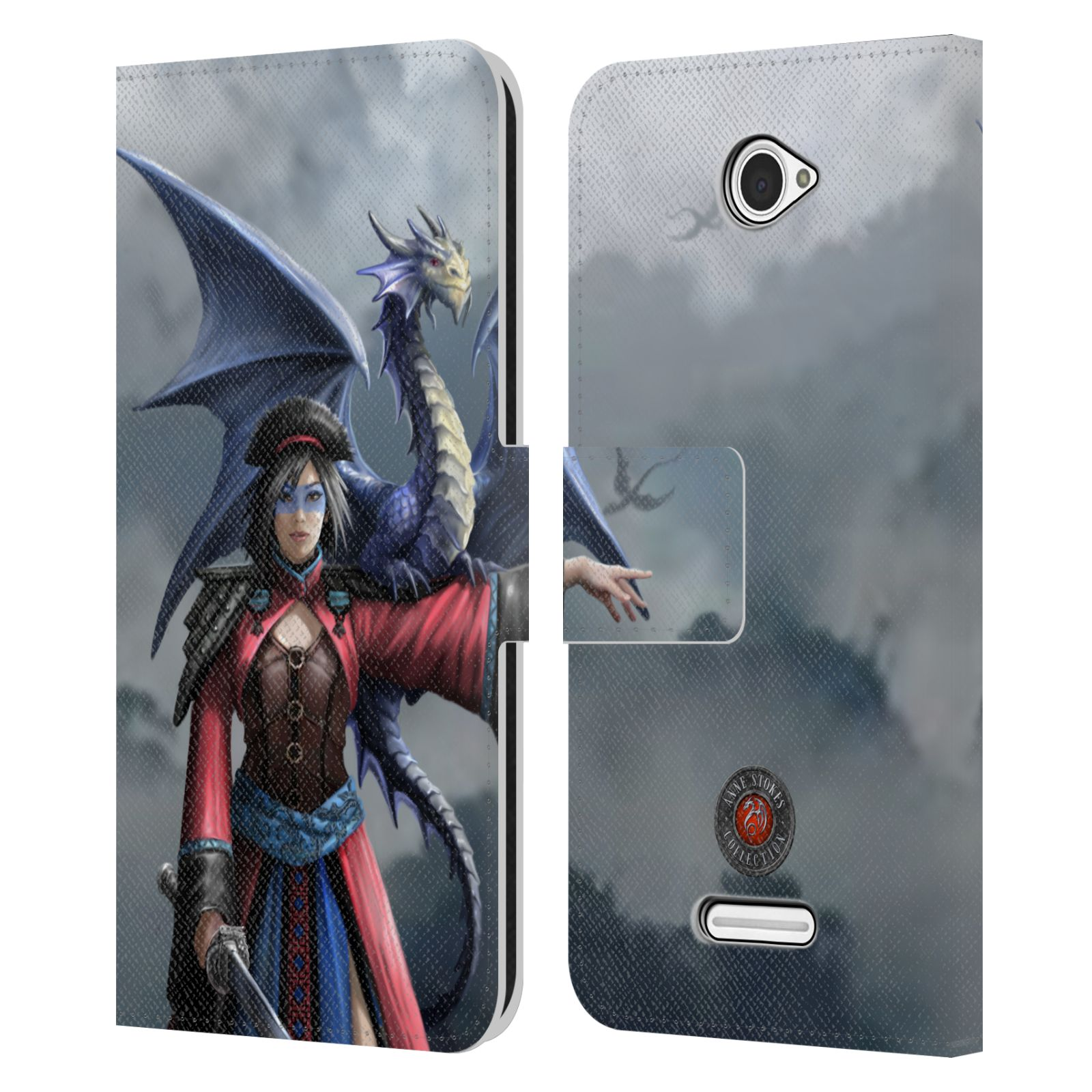 OFFICIAL-ANNE-STOKES-DRAGON-FRIENDSHIP-2-LEATHER-BOOK-CASE-FOR-SONY-PHONES-2