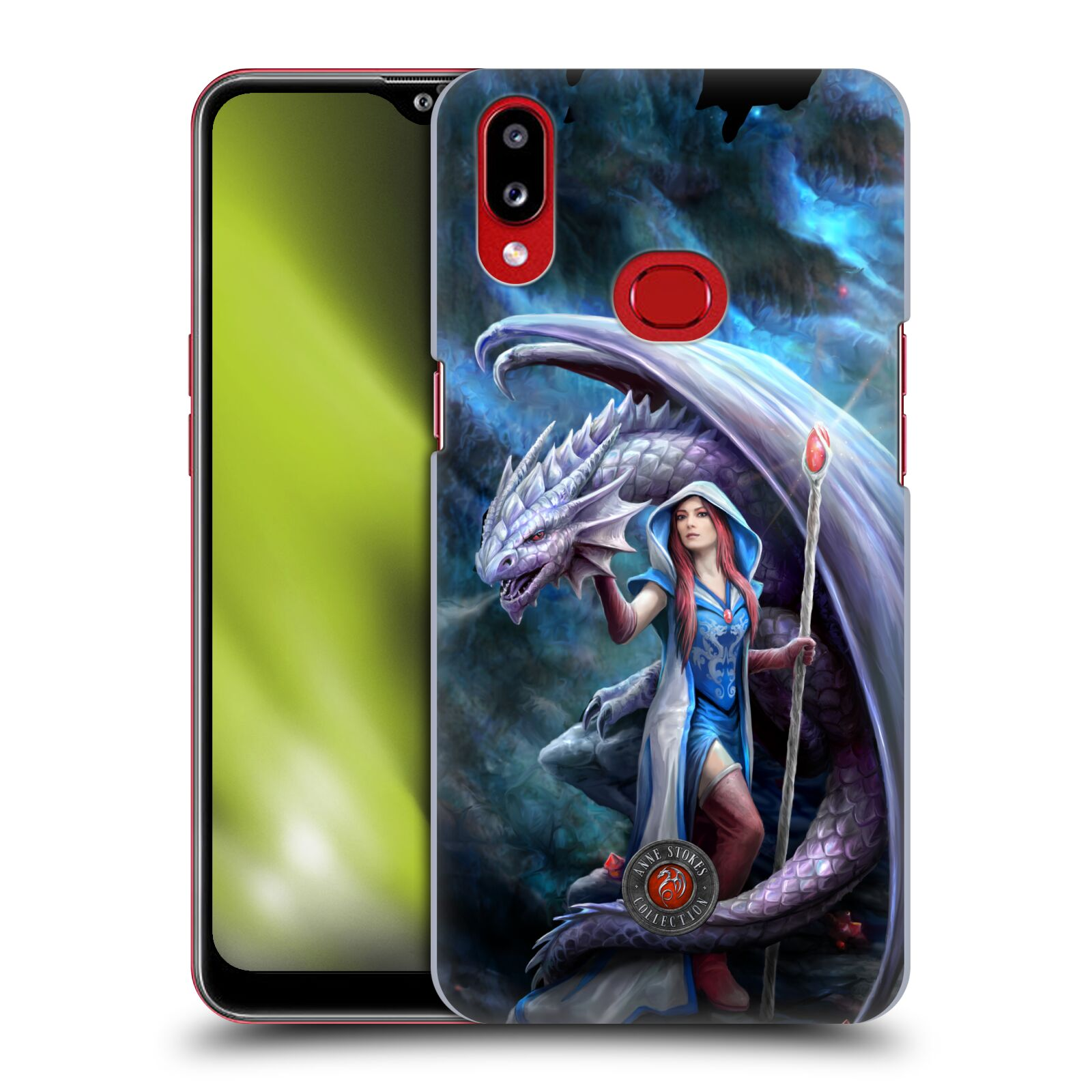 Official Anne Stokes Dragon Friendship 2 Mage Back Case for Samsung Galaxy A10s (2019)