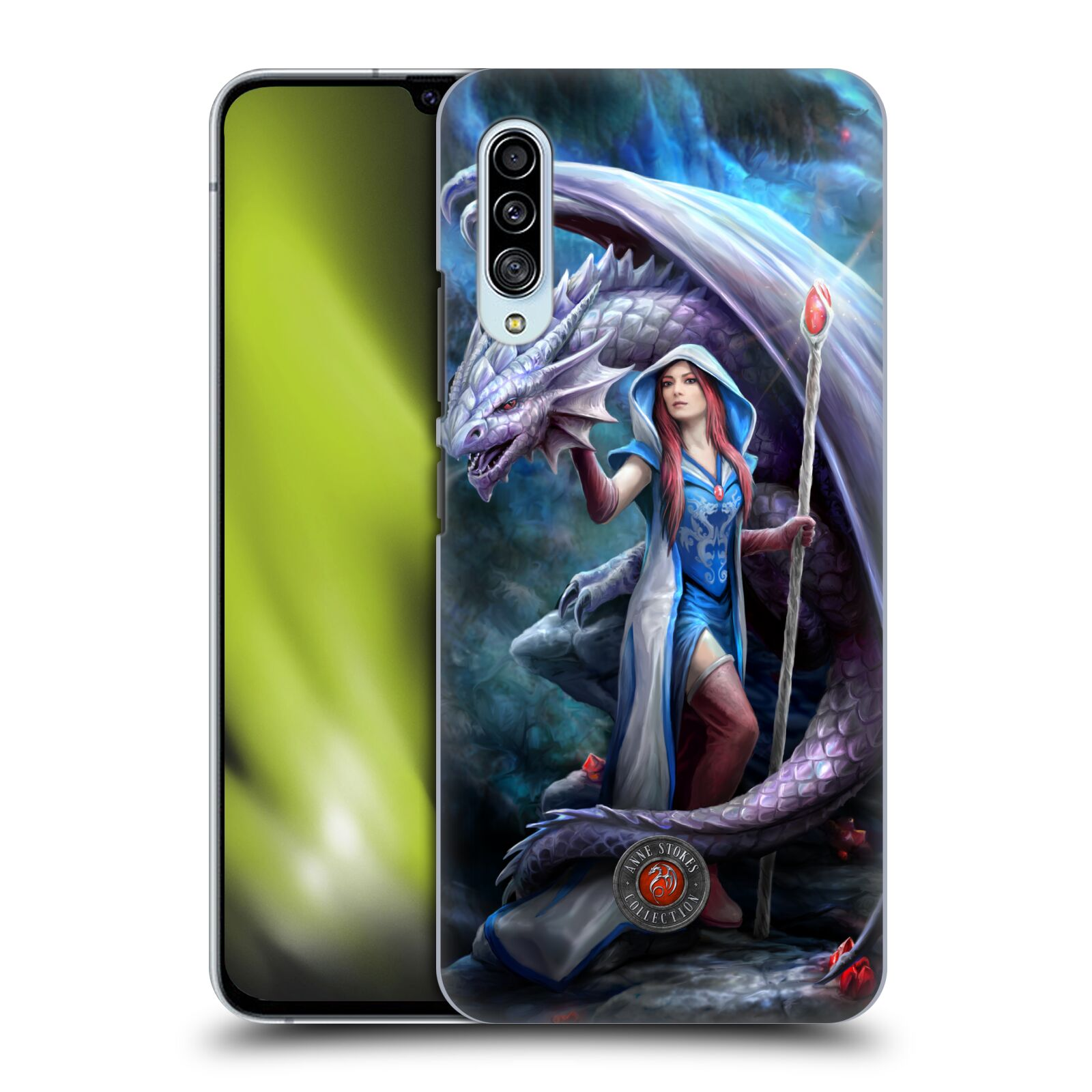 Official Anne Stokes Dragon Friendship 2 Mage Back Case for Samsung Galaxy A90 5G (2019)