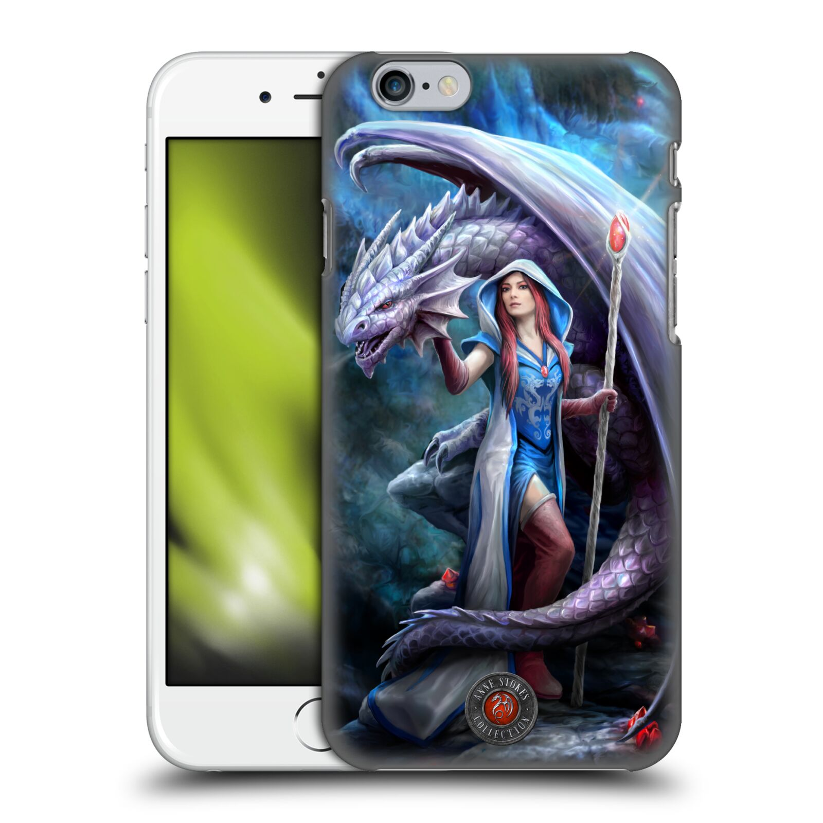 Official Anne Stokes Dragon Friendship 2 Mage Back Case for Apple iPhone 6 / iPhone 6s