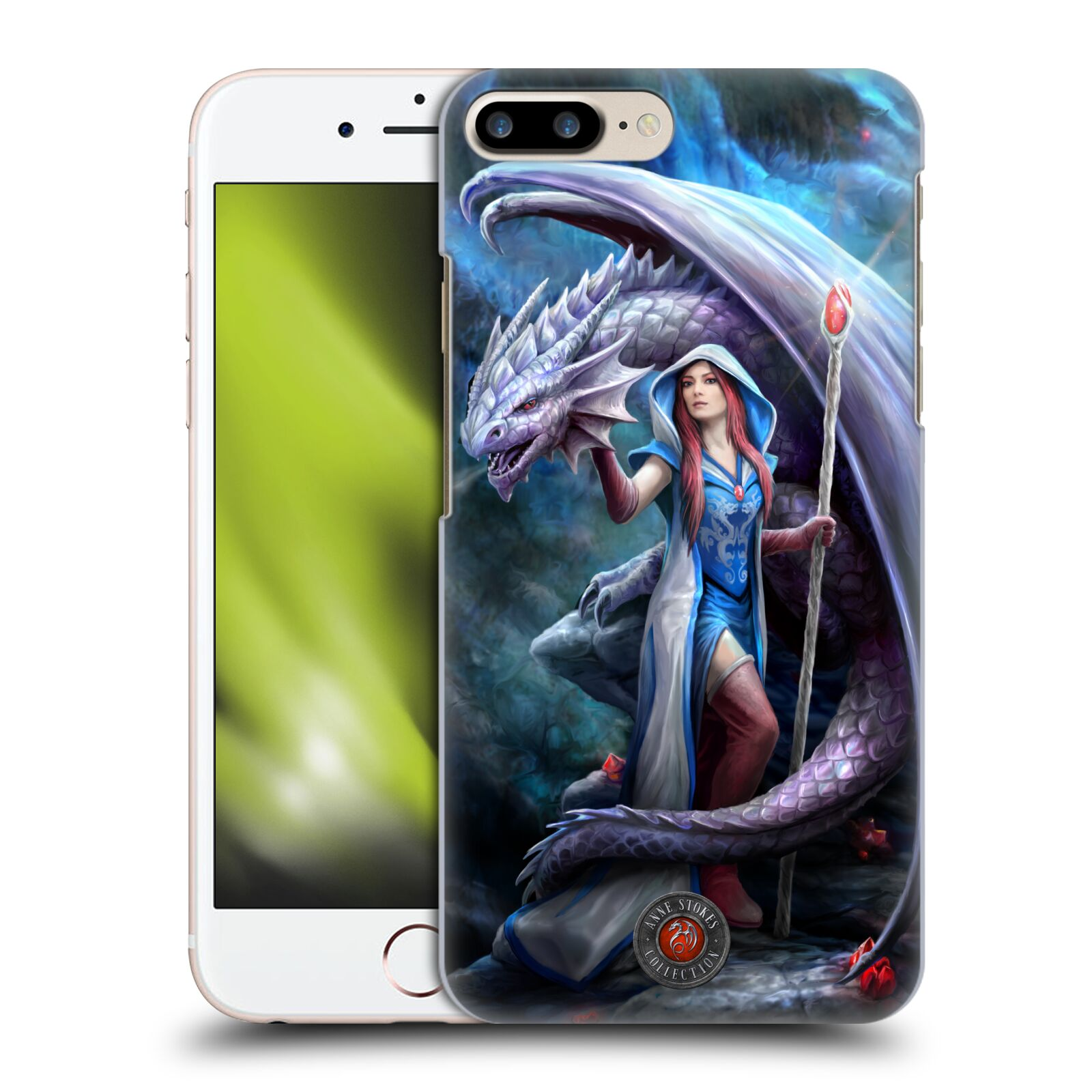 Official Anne Stokes Dragon Friendship 2 Mage Back Case for Apple iPhone 7 Plus / iPhone 8 Plus