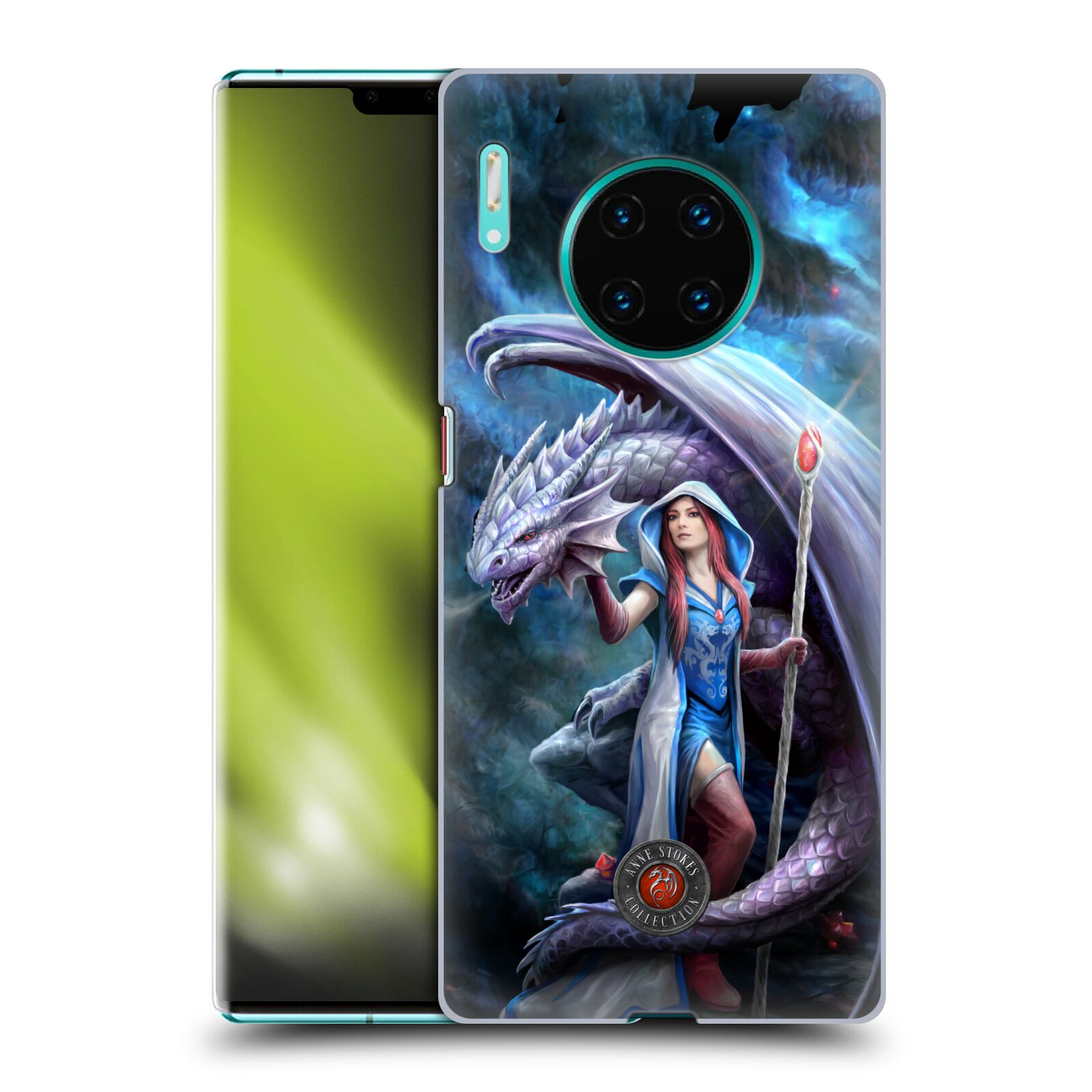 Official Anne Stokes Dragon Friendship 2 Mage Back Case for Huawei Mate 30 Pro / 5G