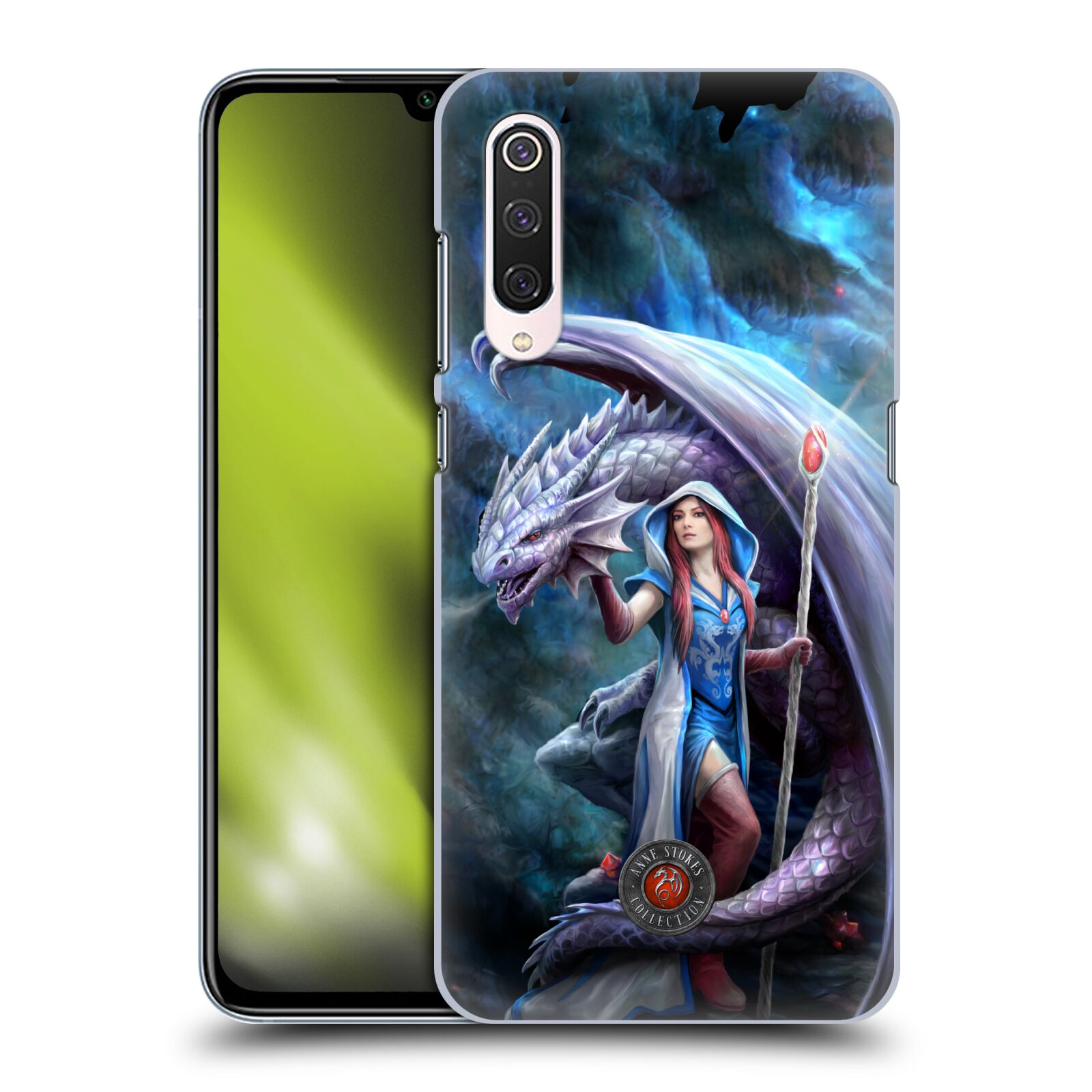 Official Anne Stokes Dragon Friendship 2 Mage Back Case for Xiaomi Mi 9 Pro / 5G