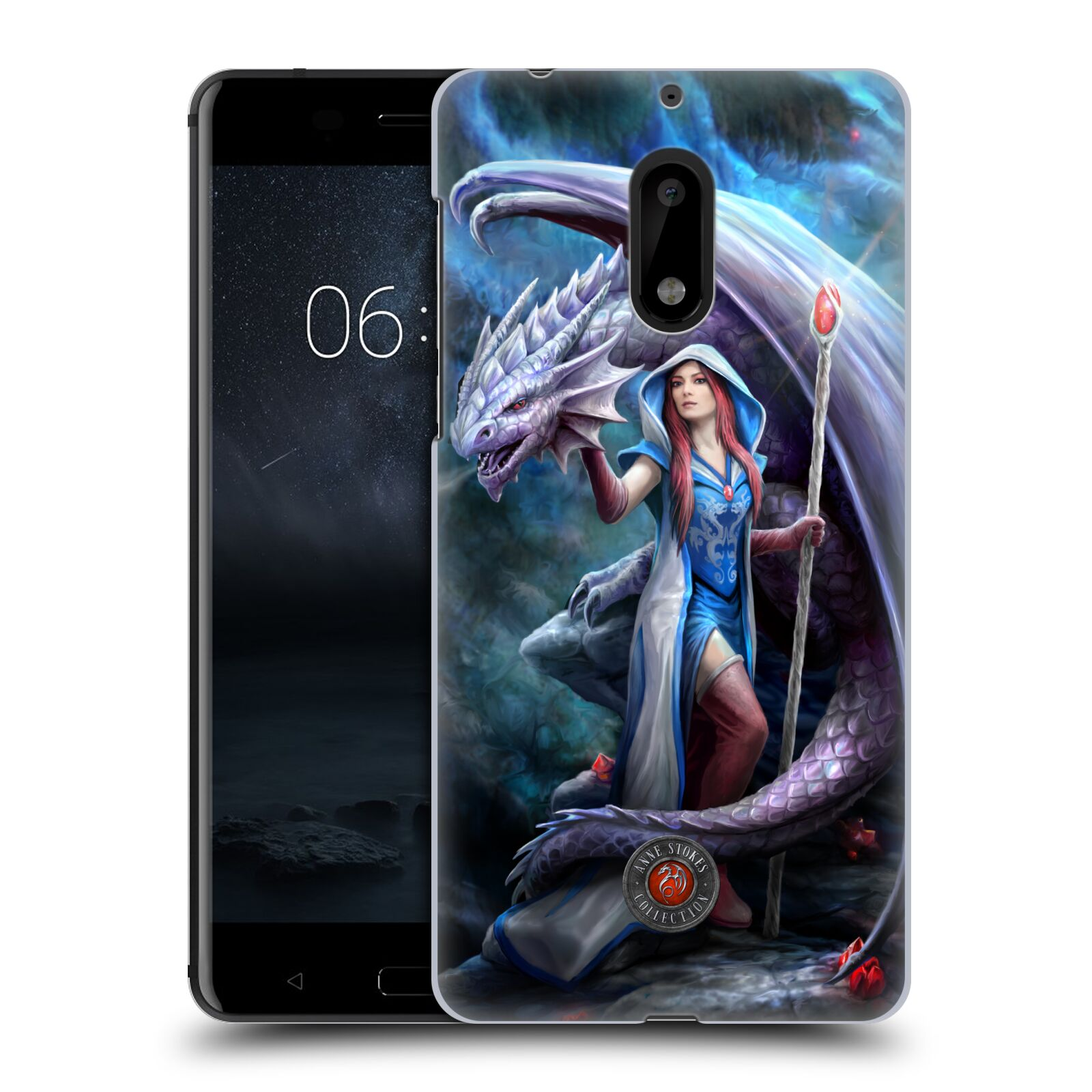 OFFICIAL-ANNE-STOKES-DRAGON-FRIENDSHIP-2-HARD-BACK-CASE-FOR-NOKIA-PHONES-1