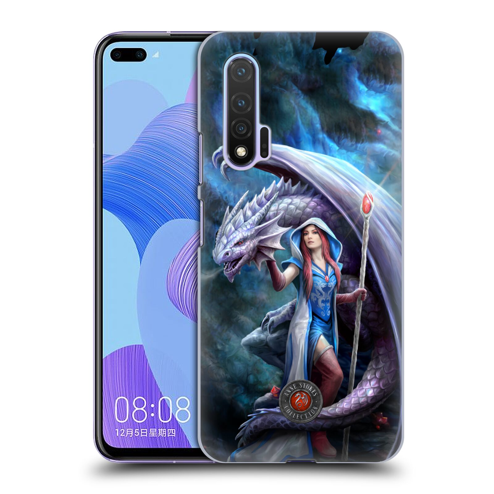 Official Anne Stokes Dragon Friendship 2 Mage Back Case for Huawei Nova 6 5G