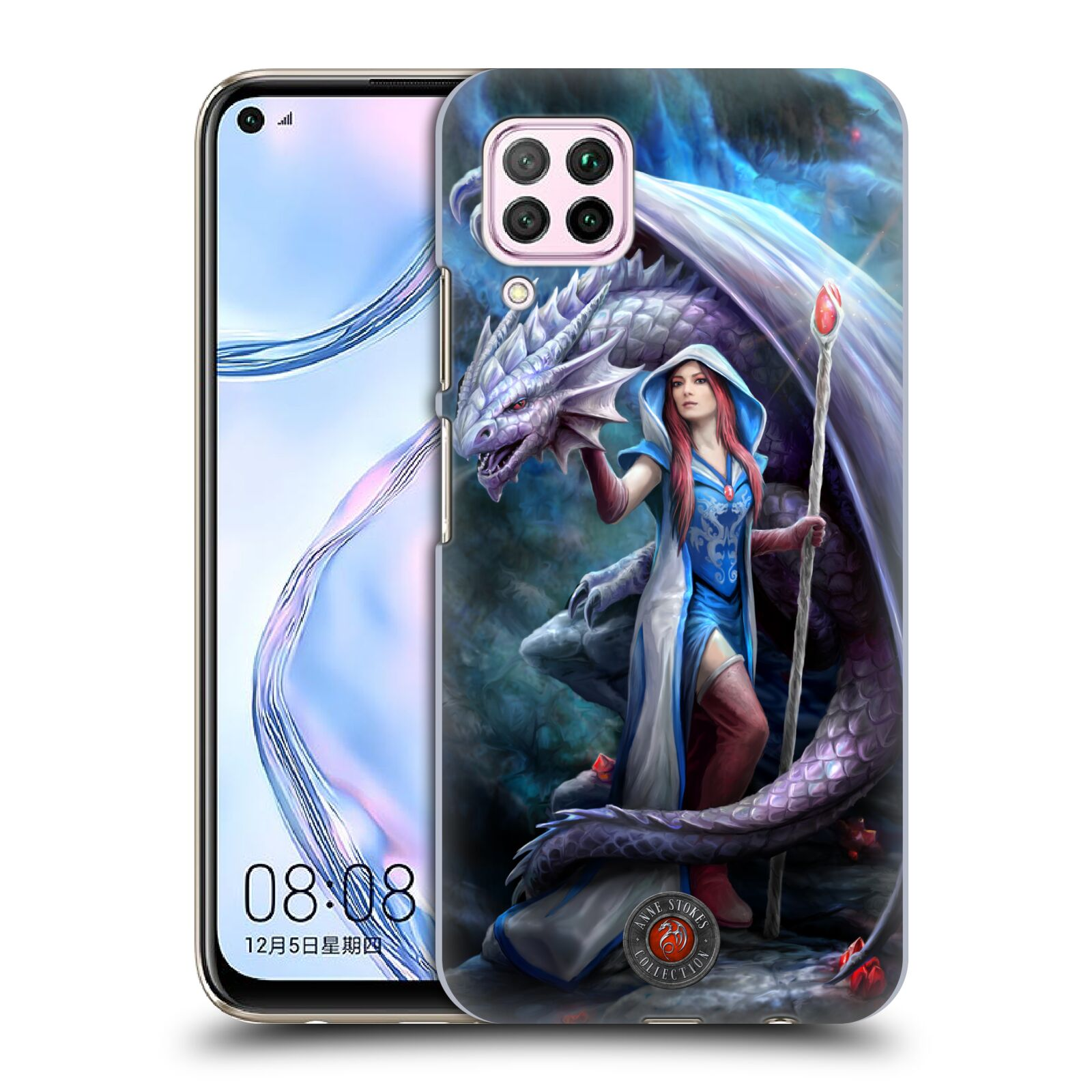 Official Anne Stokes Dragon Friendship 2 Mage Back Case for Huawei Nova 6 SE