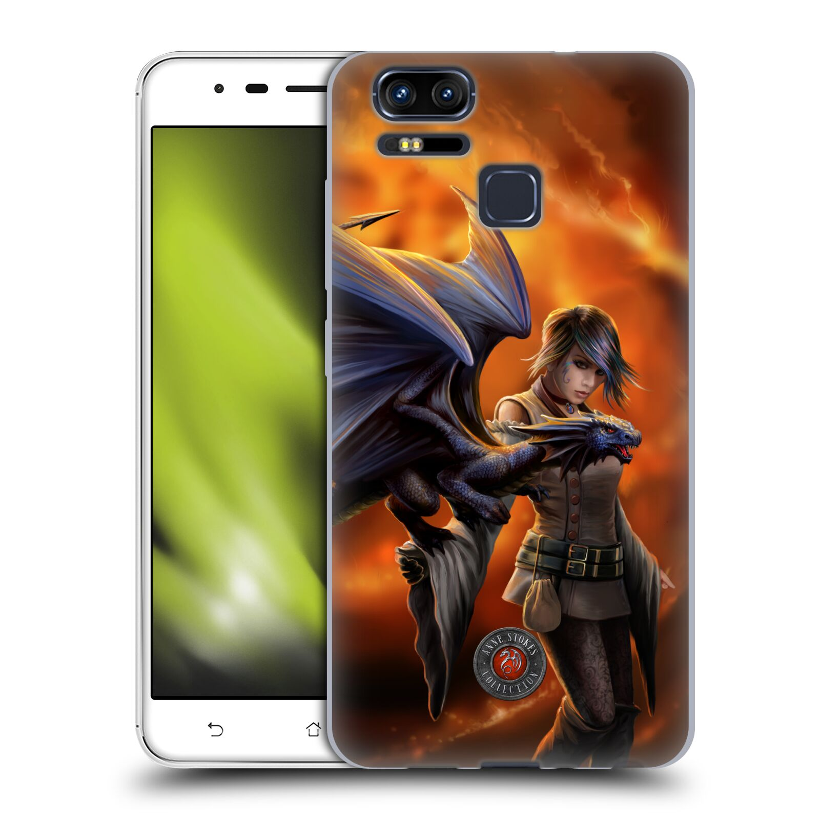 OFFICIAL-ANNE-STOKES-DRAGON-FRIENDSHIP-2-SOFT-GEL-CASE-FOR-ASUS-ZENFONE-PHONES