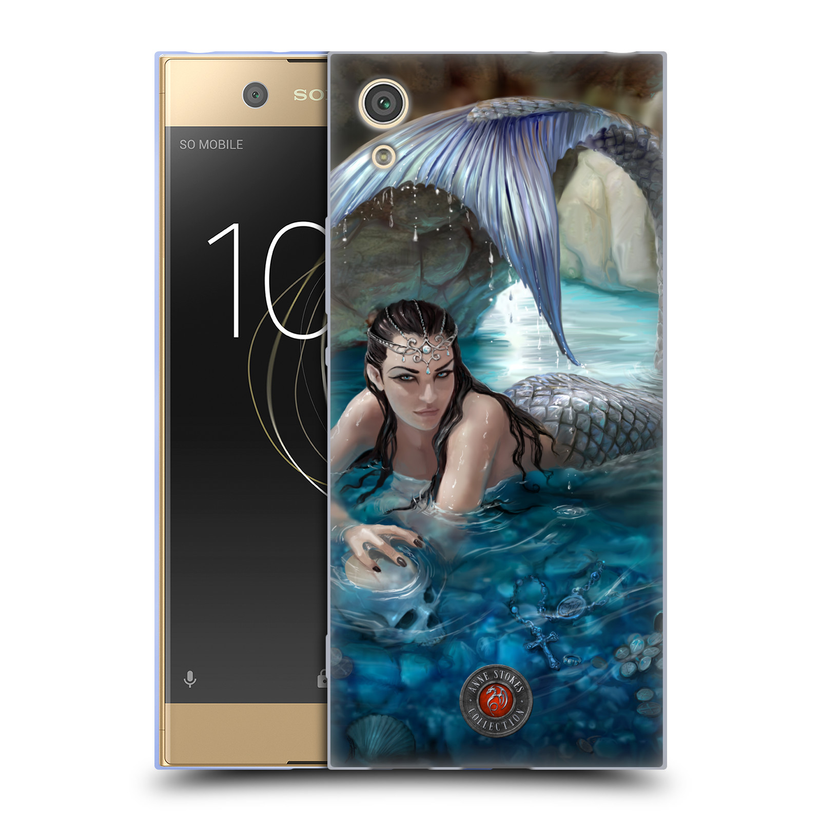 OFFICIAL-ANNE-STOKES-MERMAID-AND-ANGELS-SOFT-GEL-CASE-FOR-SONY-PHONES-1