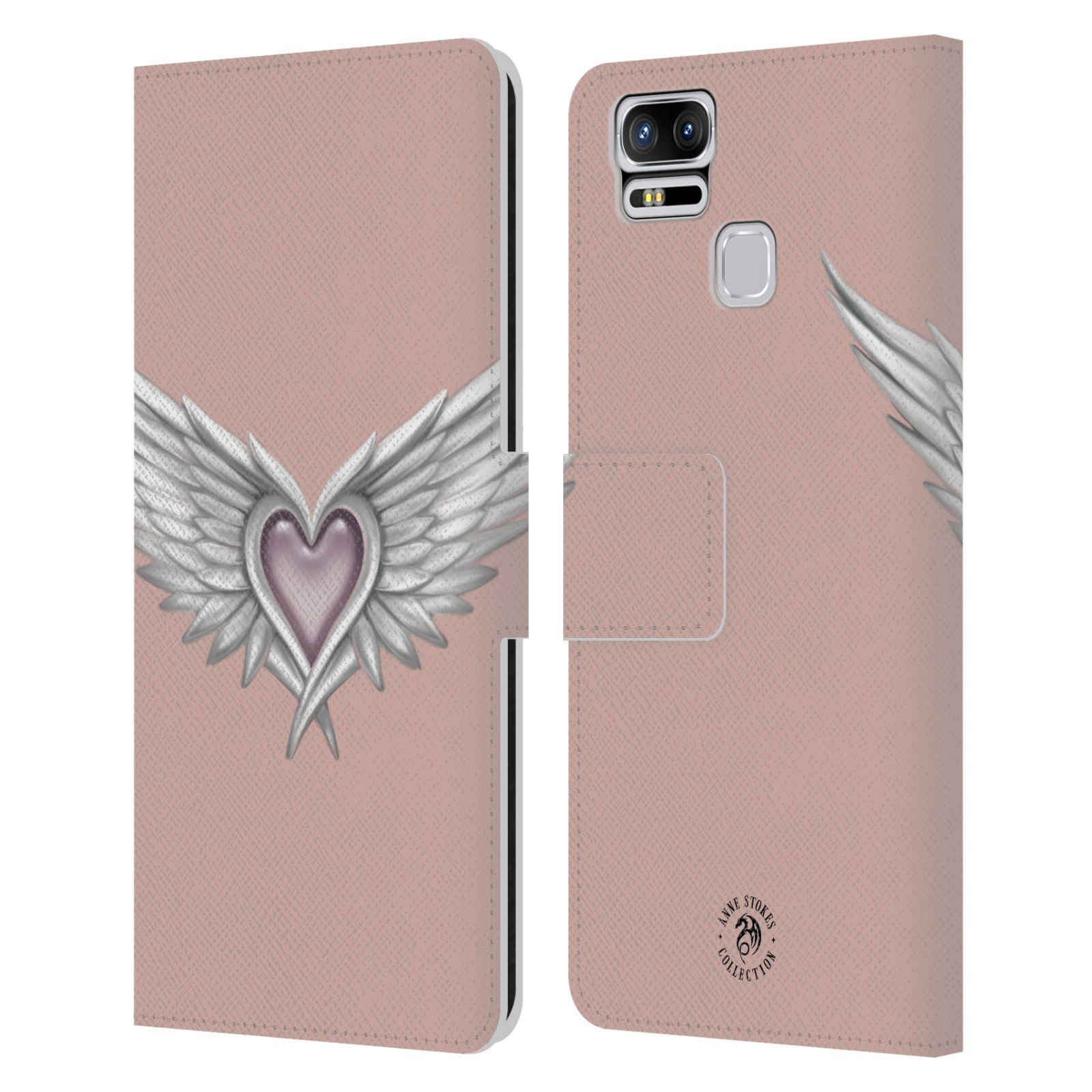 ANNE-STOKES-MERMAID-AND-ANGELS-LEATHER-BOOK-WALLET-CASE-FOR-ASUS-ZENFONE-PHONES